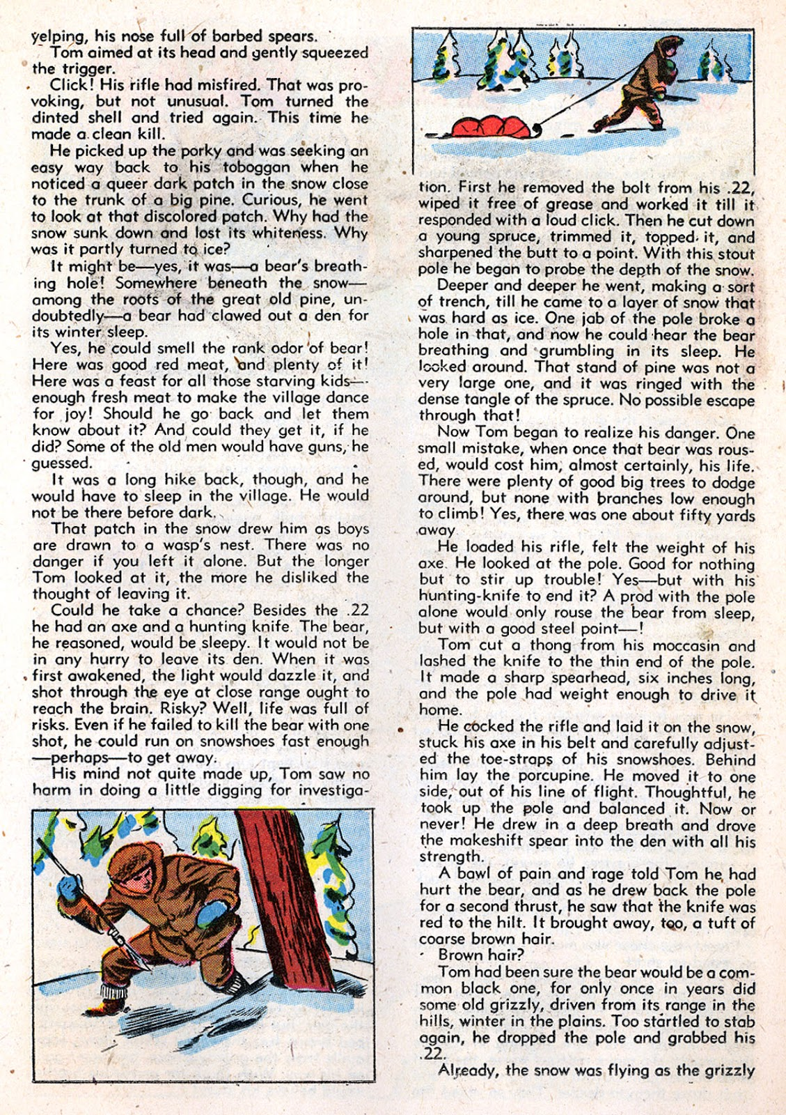 Read online Animal Comics comic -  Issue #29 - 35