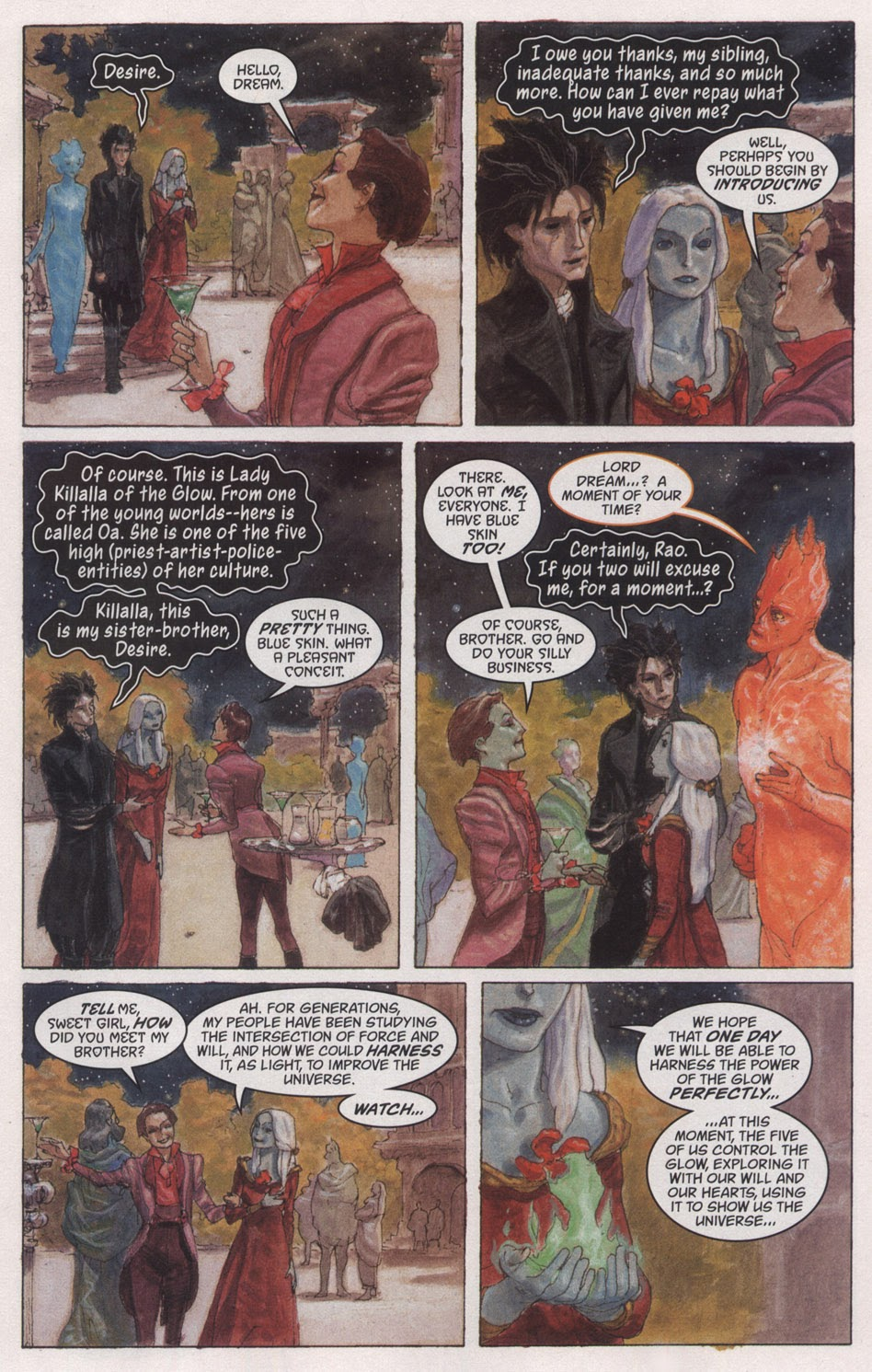 Read online The Sandman: Endless Nights comic -  Issue # _Special - 9