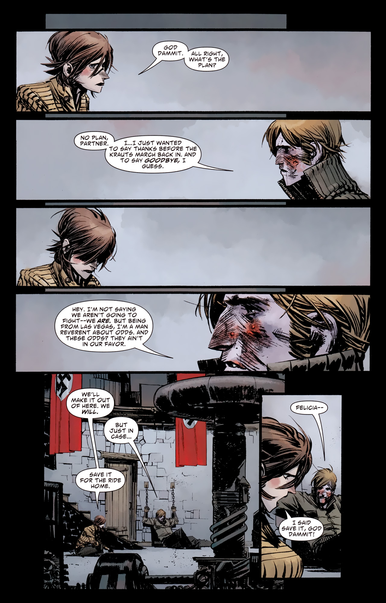Read online American Vampire: Survival of the Fittest comic -  Issue #4 - 13