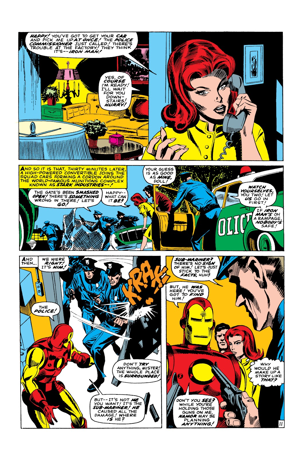 Read online Marvel Masterworks: The Invincible Iron Man comic -  Issue # TPB 3 (Part 4) - 36