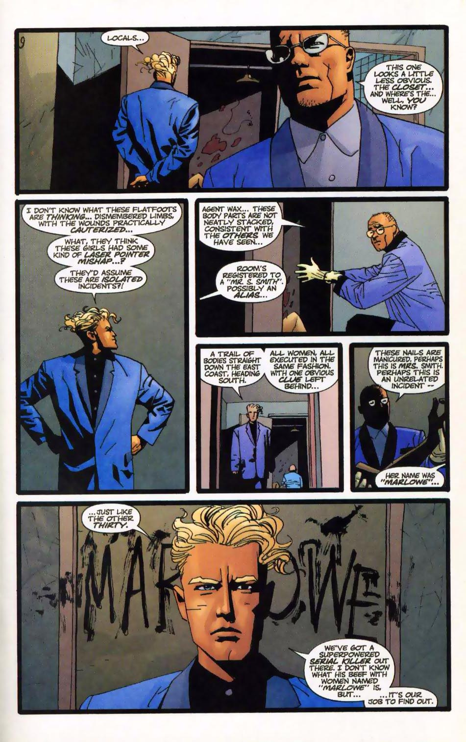 Wildcats (1999) Issue #15 #16 - English 14
