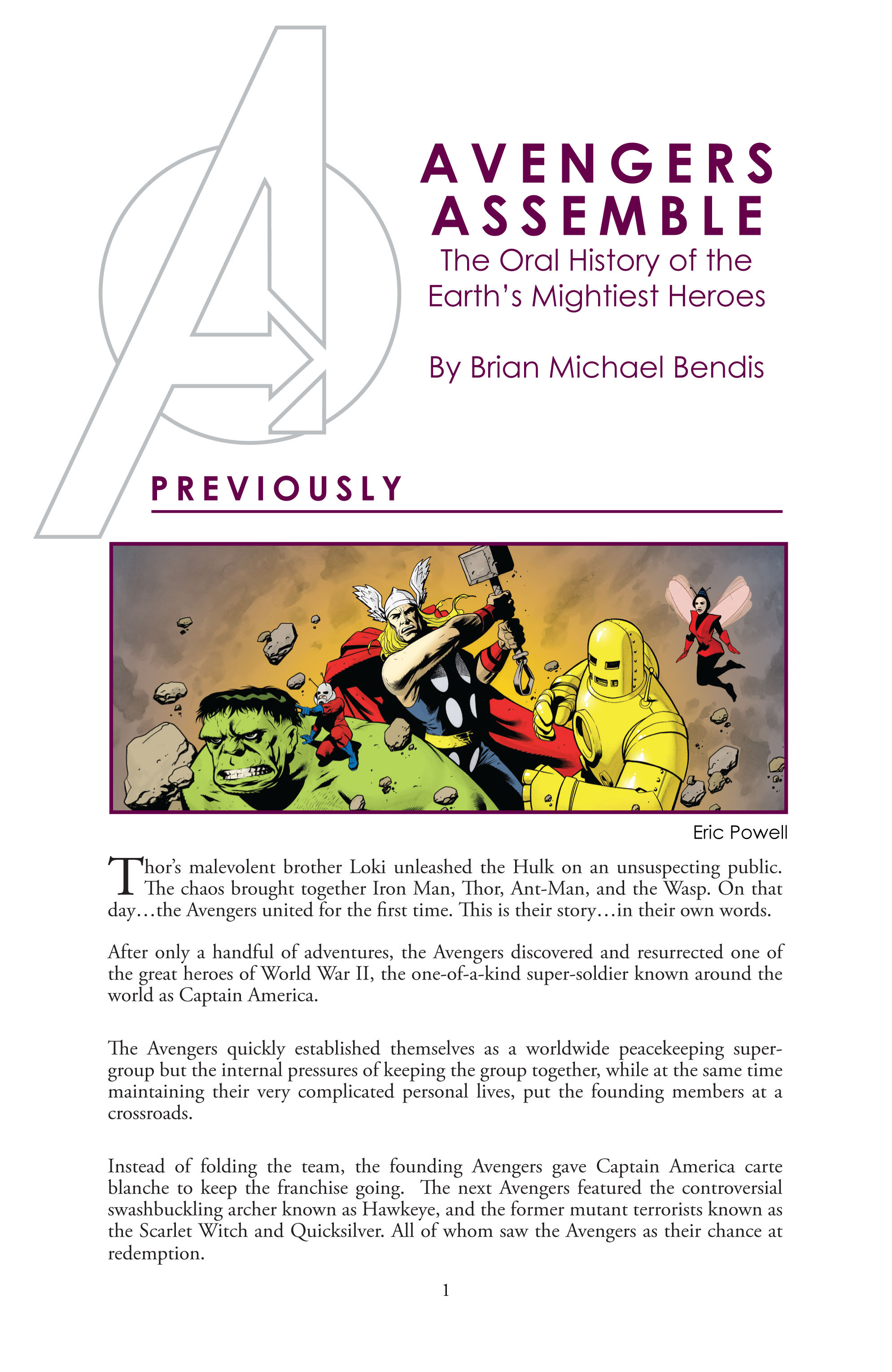 Read online Avengers (2010) comic -  Issue #5 - 19