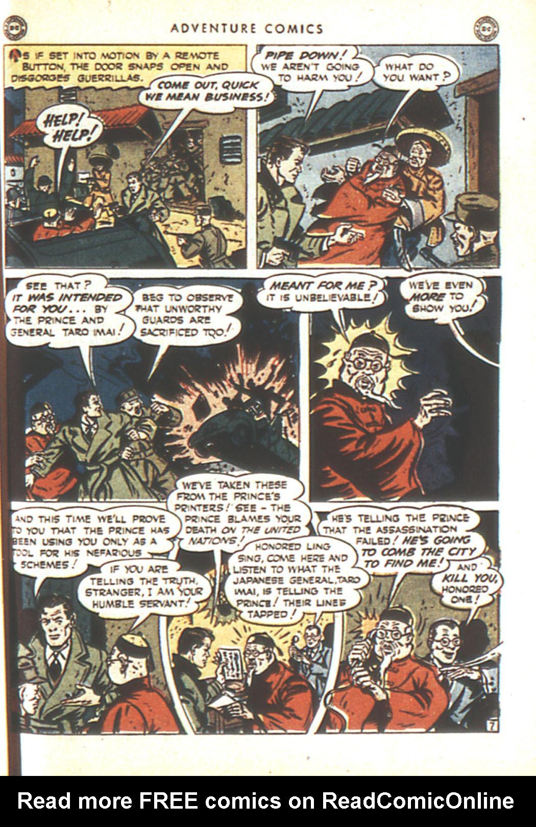 Read online Adventure Comics (1938) comic -  Issue #92 - 41