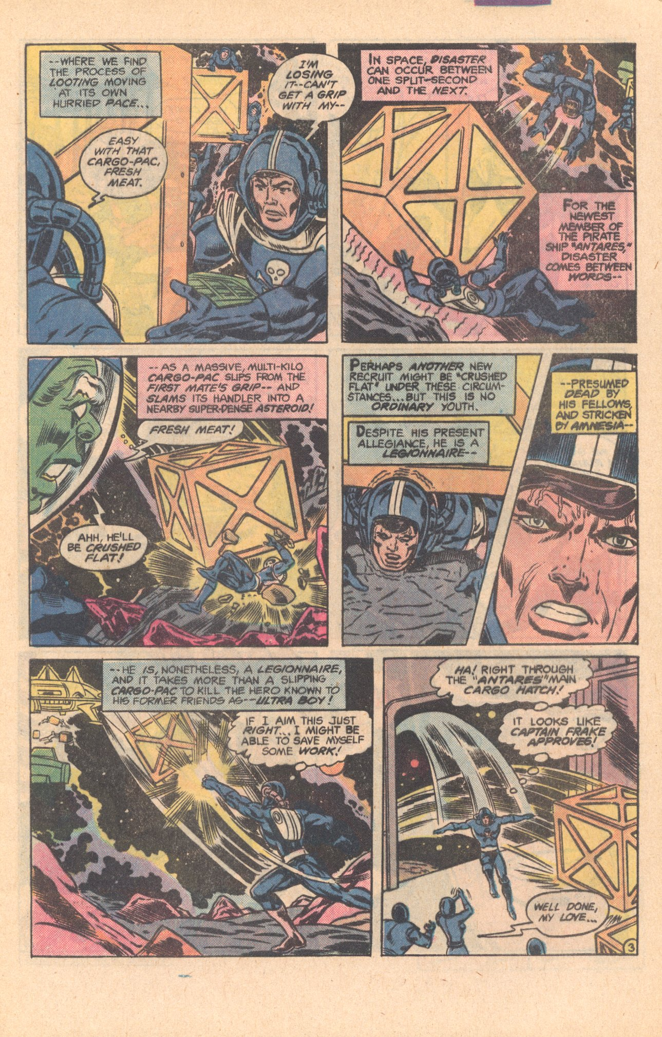 Legion of Super-Heroes (1980) 275 Page 3