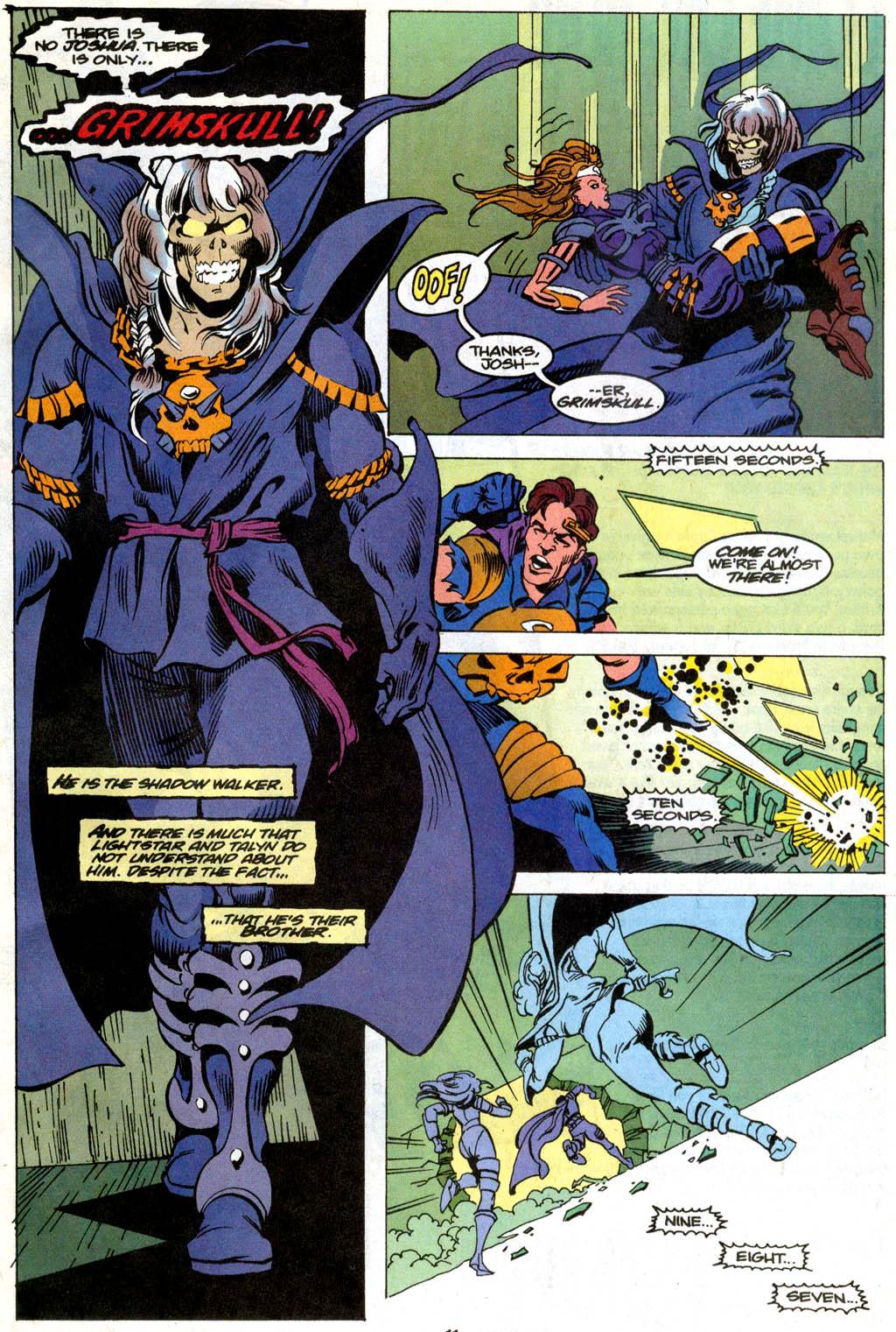 Skeleton Warriors Issue #1 #1 - English 9