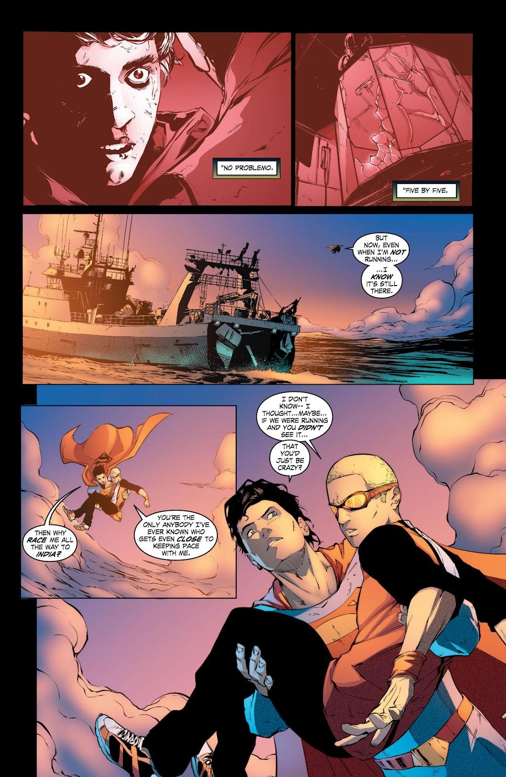 Read online Smallville Season 11 [II] comic -  Issue # TPB 3 - 44