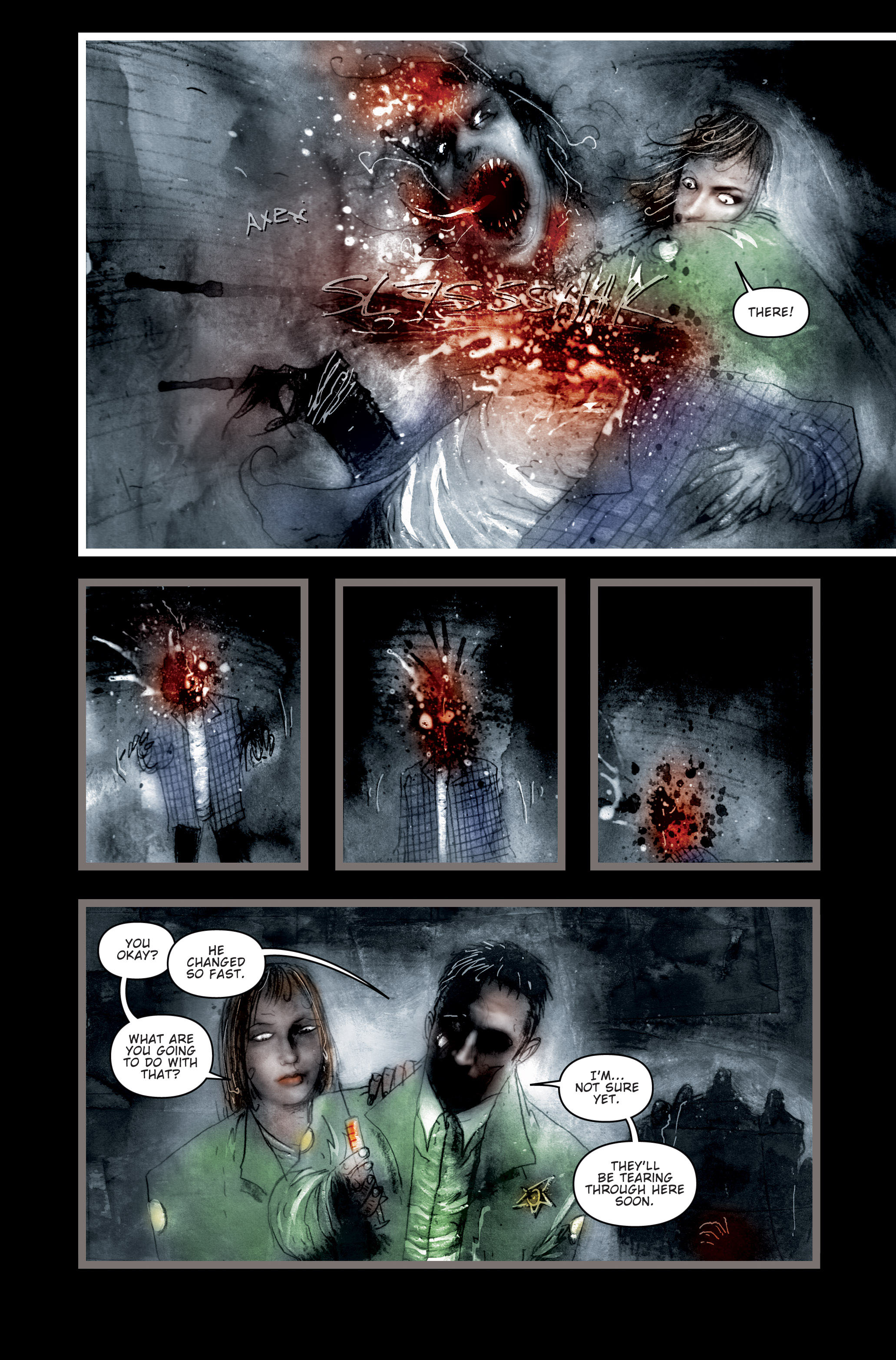 Read online 30 Days of Night (2002) comic -  Issue #3 - 7