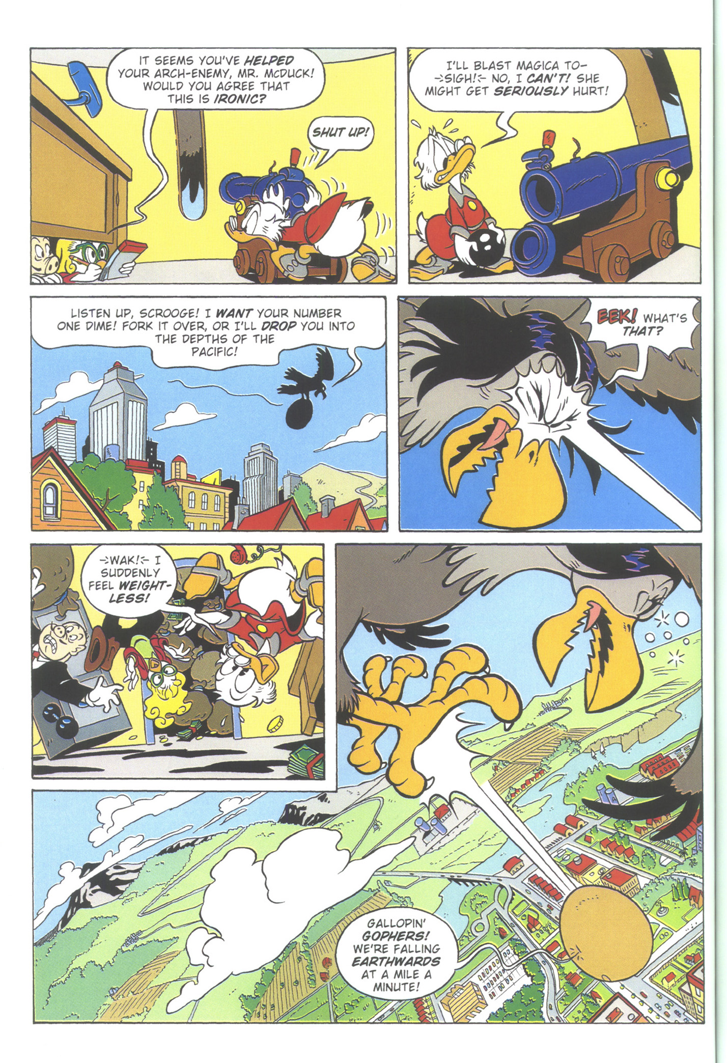Read online Uncle Scrooge (1953) comic -  Issue #364 - 56