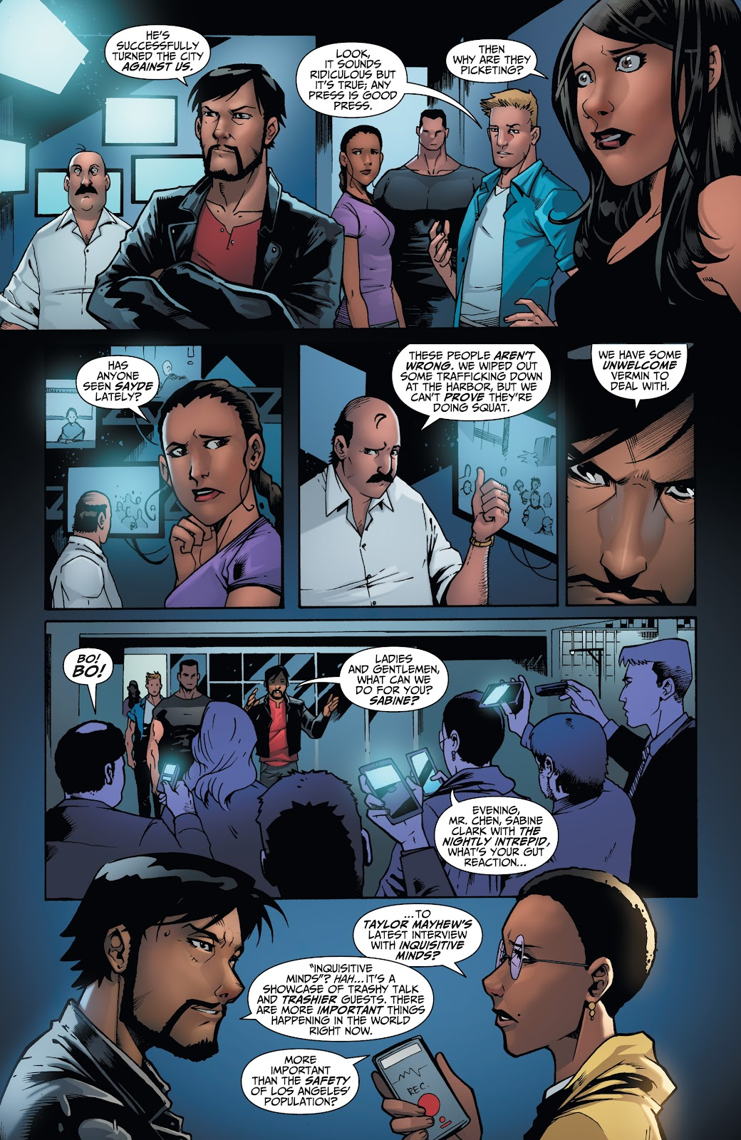 Read online Incidentals comic -  Issue #17 - 4
