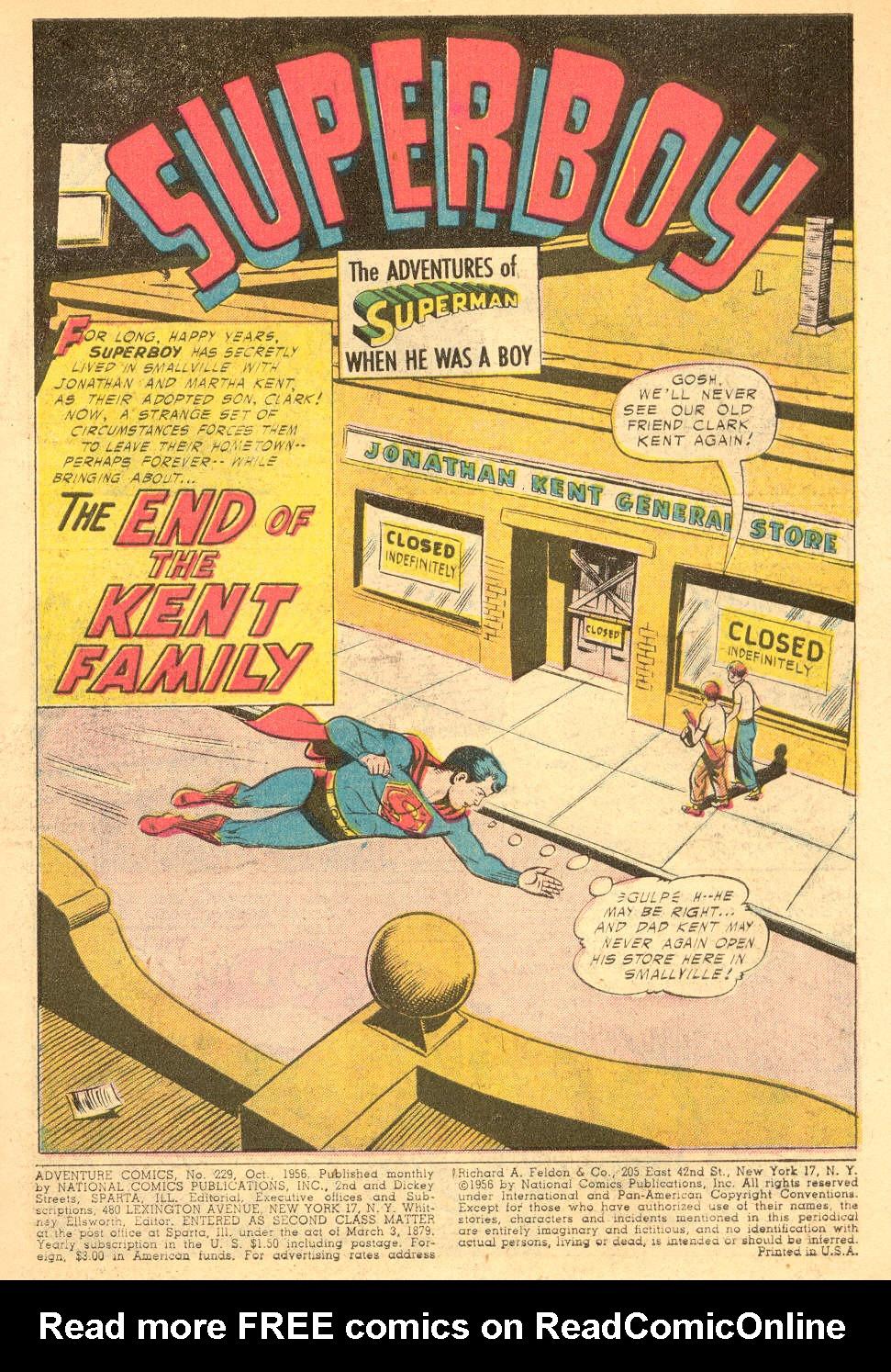 Read online Adventure Comics (1938) comic -  Issue #229 - 3