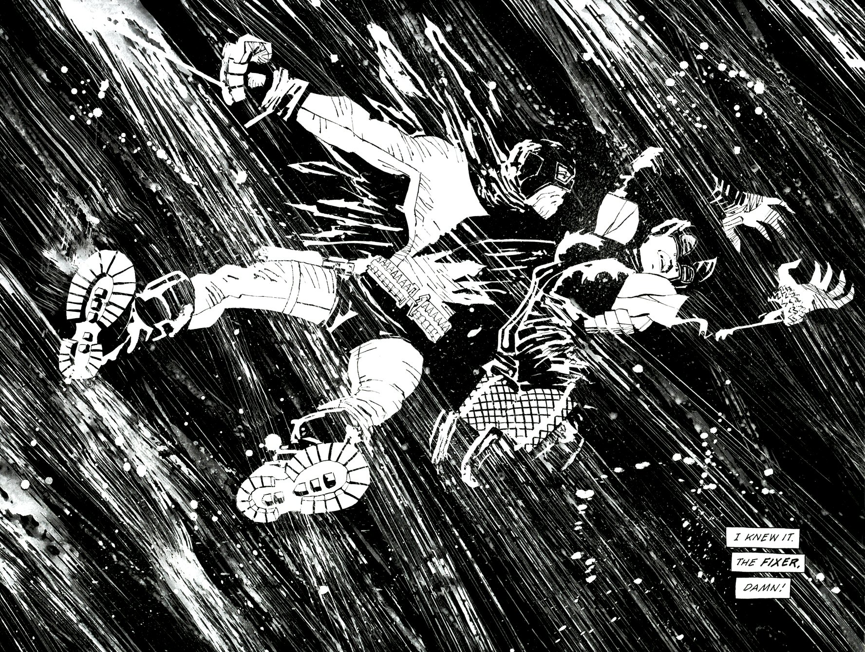 Read online Frank Miller's Holy Terror comic -  Issue # TPB - 19