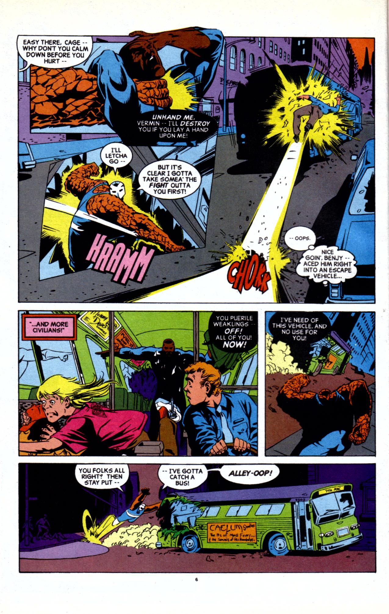 Cage (1992) issue 20 - Page 5