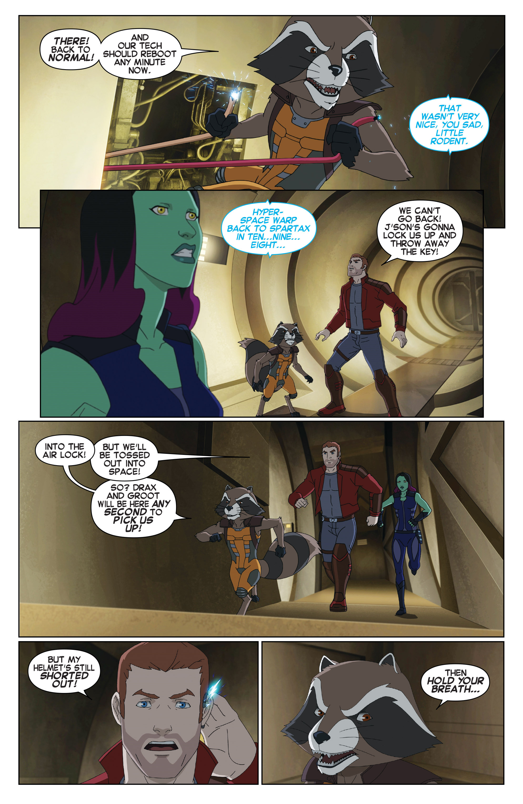 Read online Marvel Universe Guardians of the Galaxy [II] comic -  Issue #18 - 12
