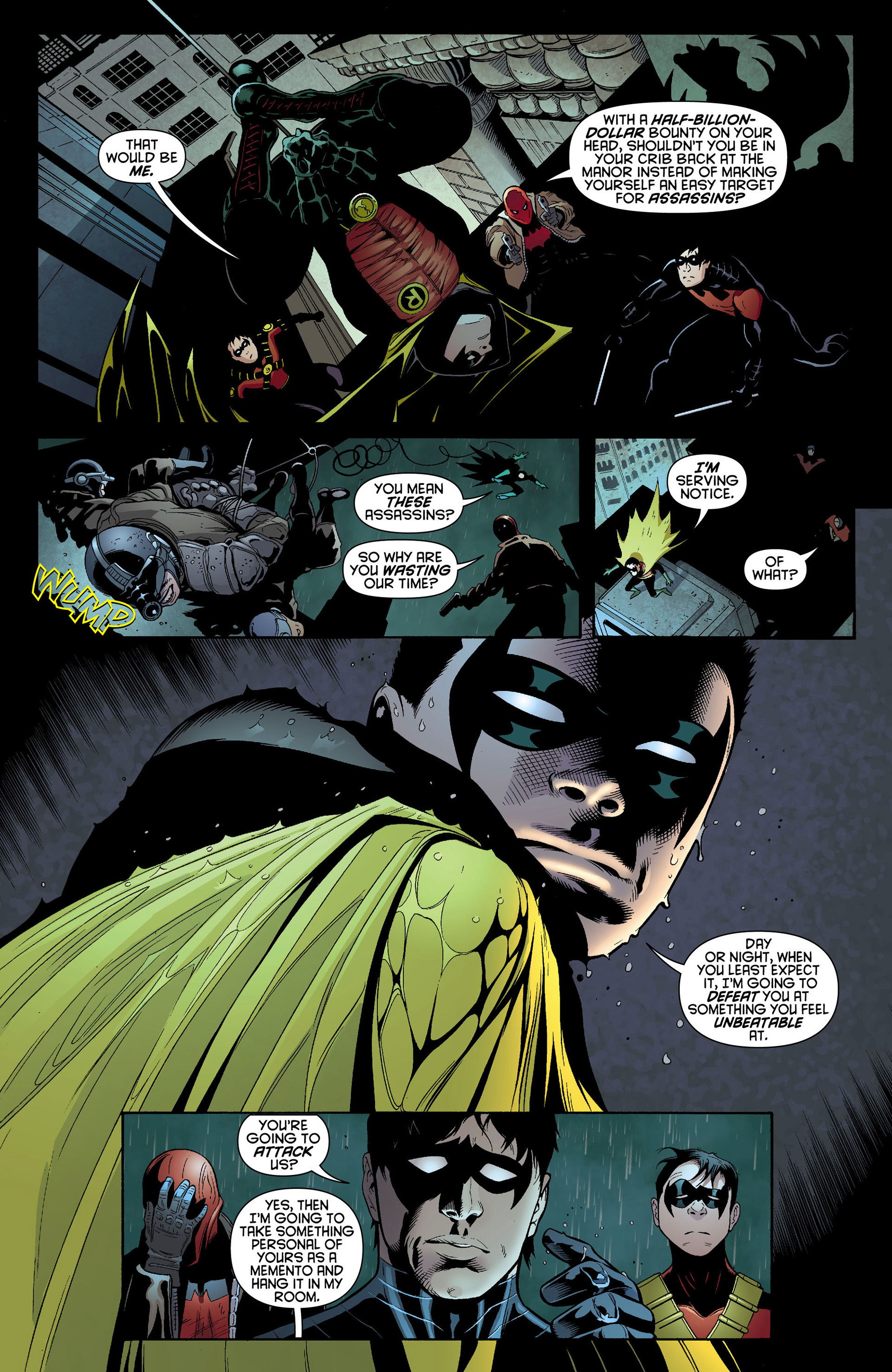 Read online Batman and Robin (2011) comic -  Issue #10 - 12