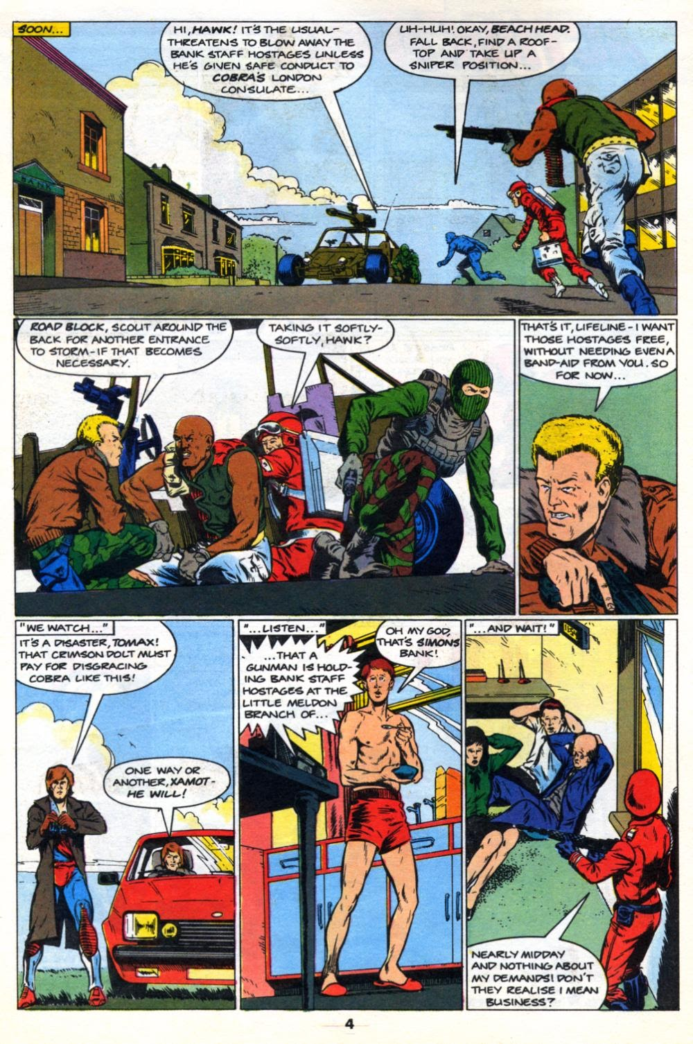 G.I. Joe European Missions issue 10 - Page 4