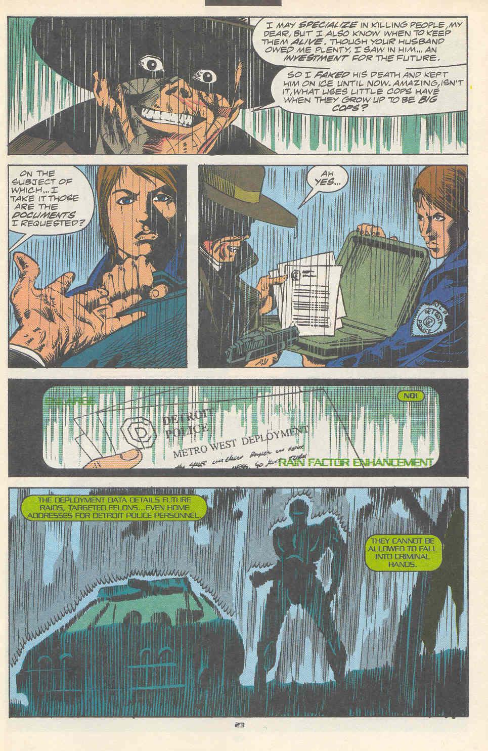 Read online Robocop (1990) comic -  Issue #17 - 18