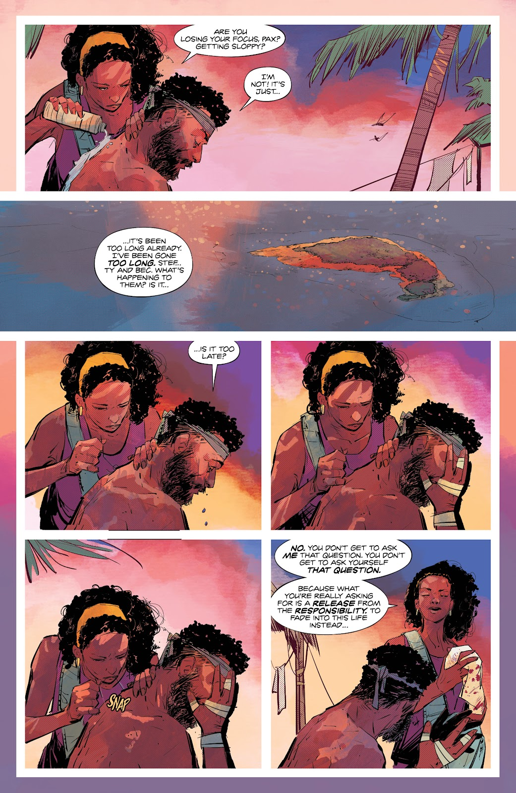 Read online Resonant comic -  Issue #5 - 19