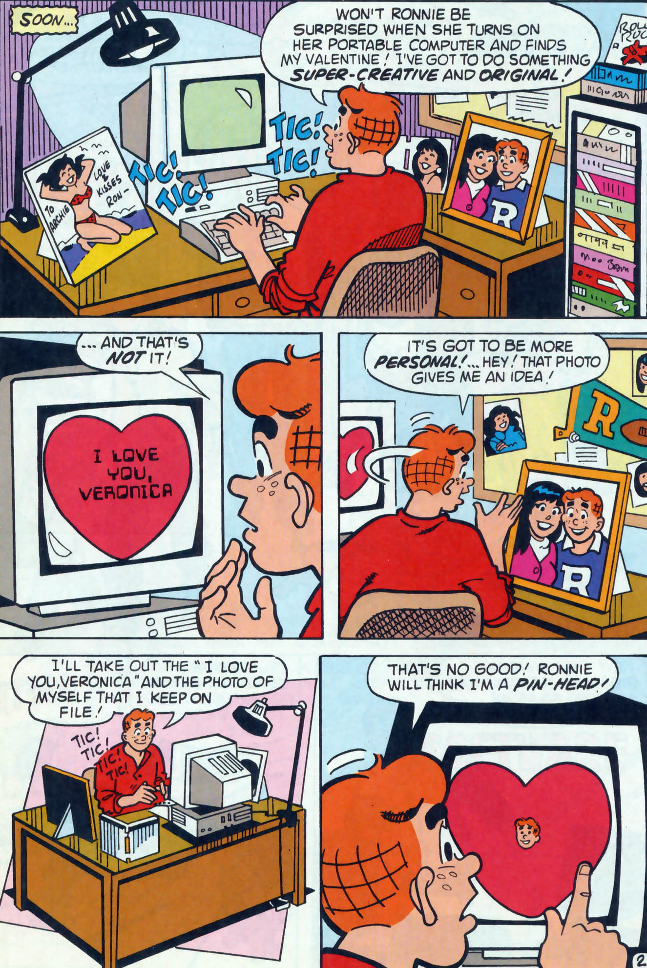 Read online Archie (1960) comic -  Issue #458 - 22