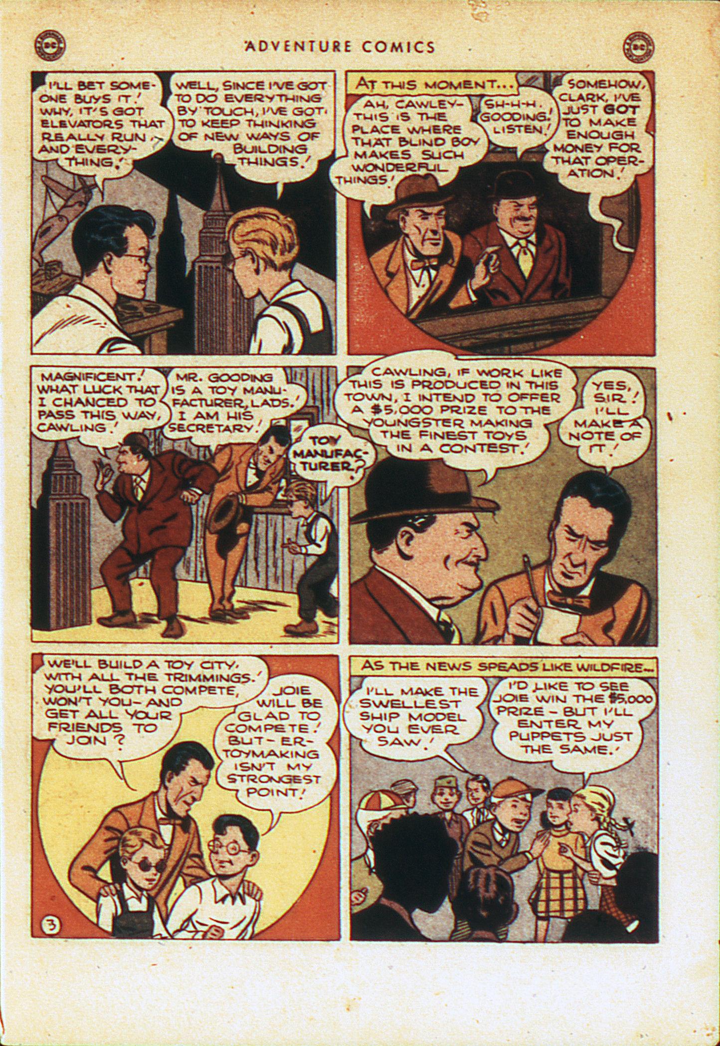 Read online Adventure Comics (1938) comic -  Issue #104 - 6