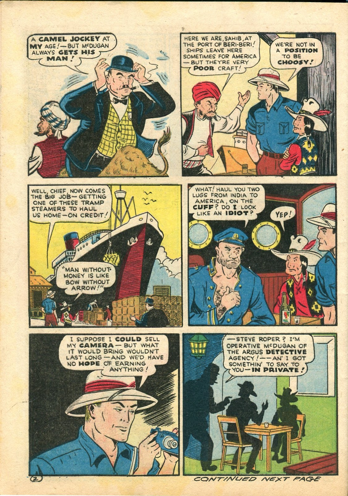 Read online Famous Funnies comic -  Issue #113 - 54