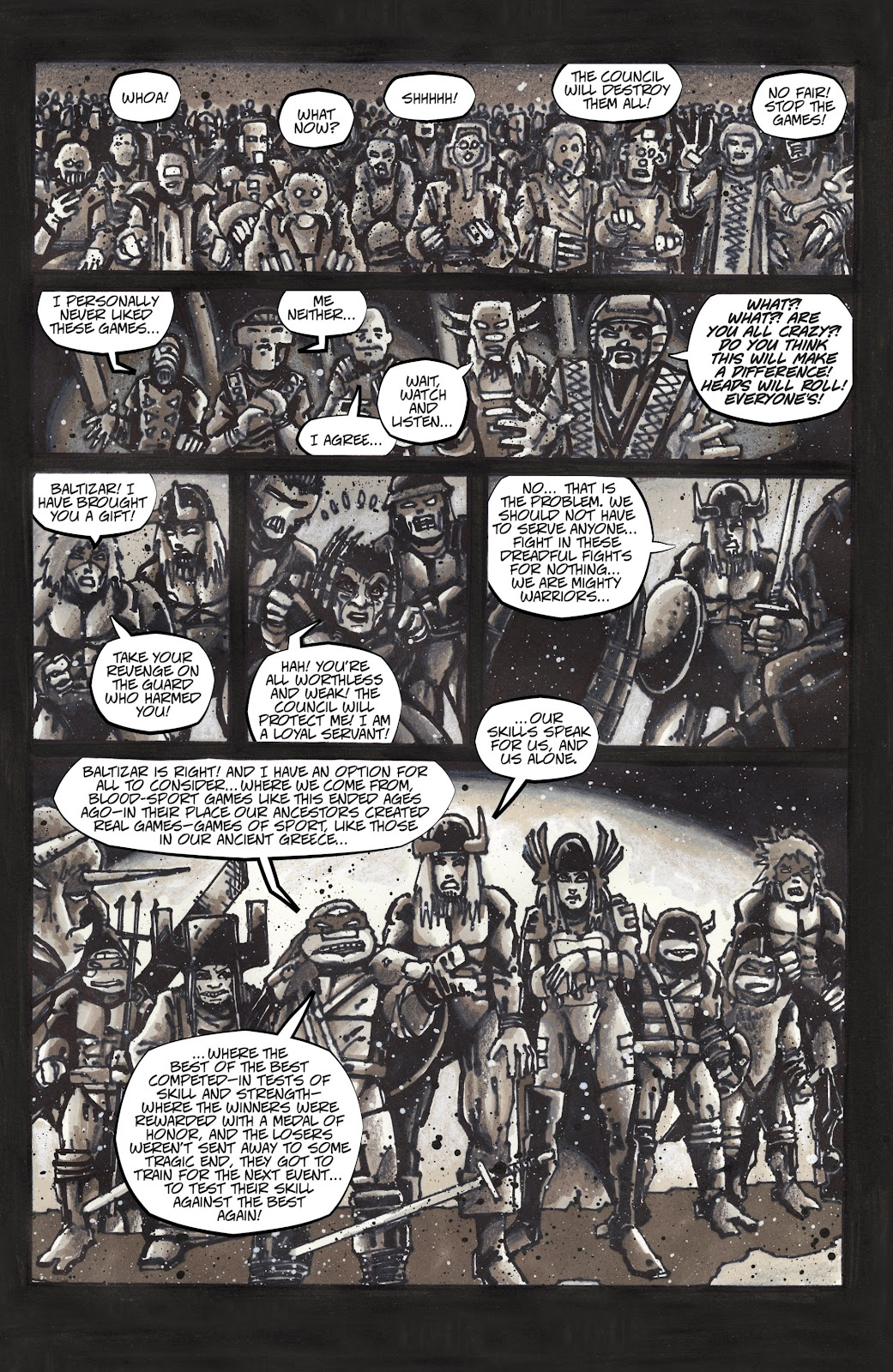 Read online Teenage Mutant Ninja Turtles: The IDW Collection comic -  Issue # TPB 4 (Part 3) - 4