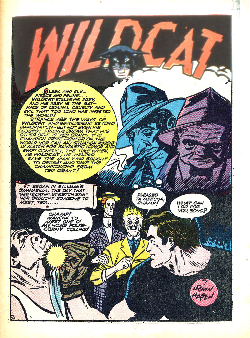 Read online Sensation (Mystery) Comics comic -  Issue #12 - 53