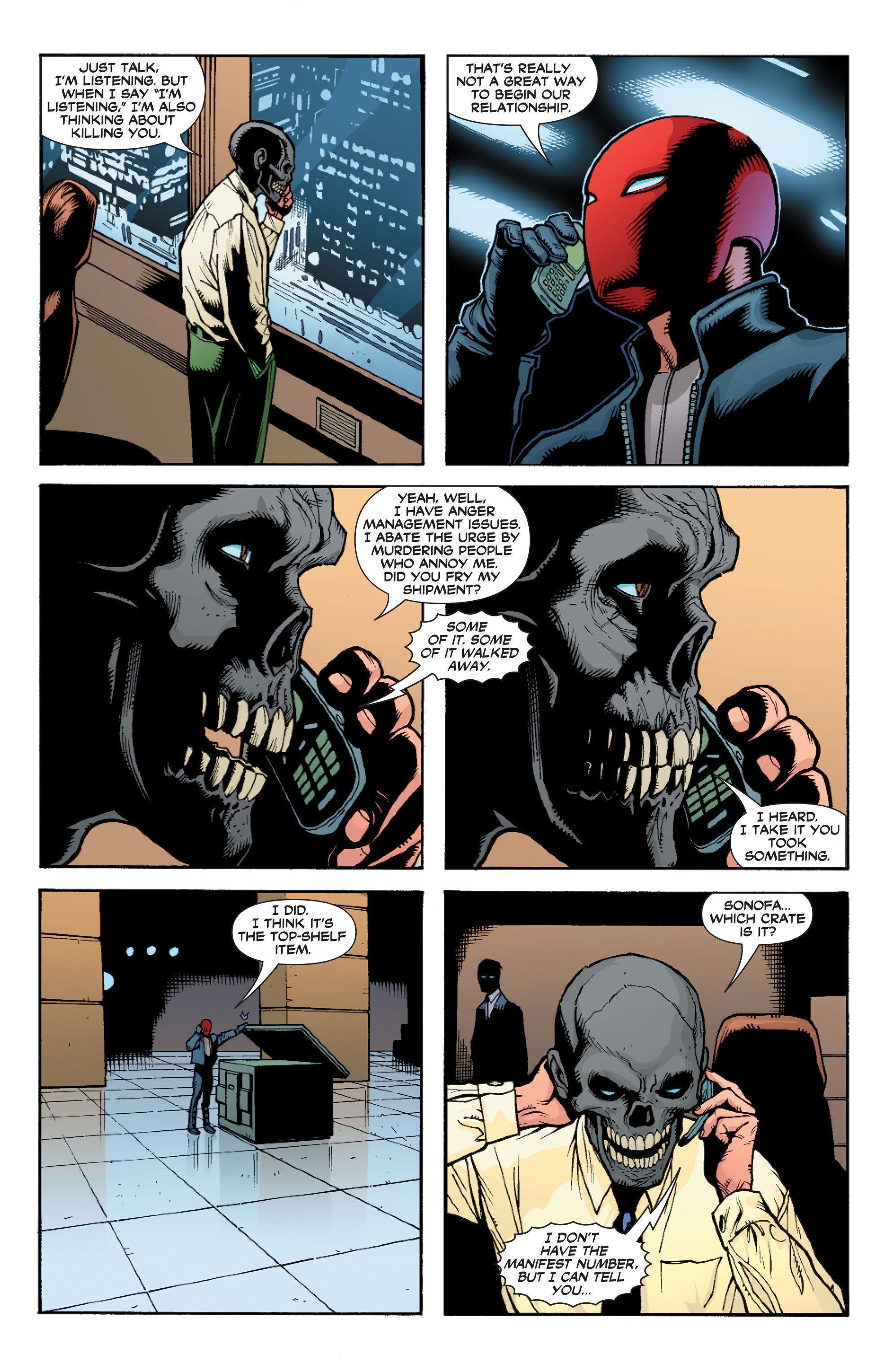 Read online Batman: Under The Red Hood comic -  Issue # Full - 76