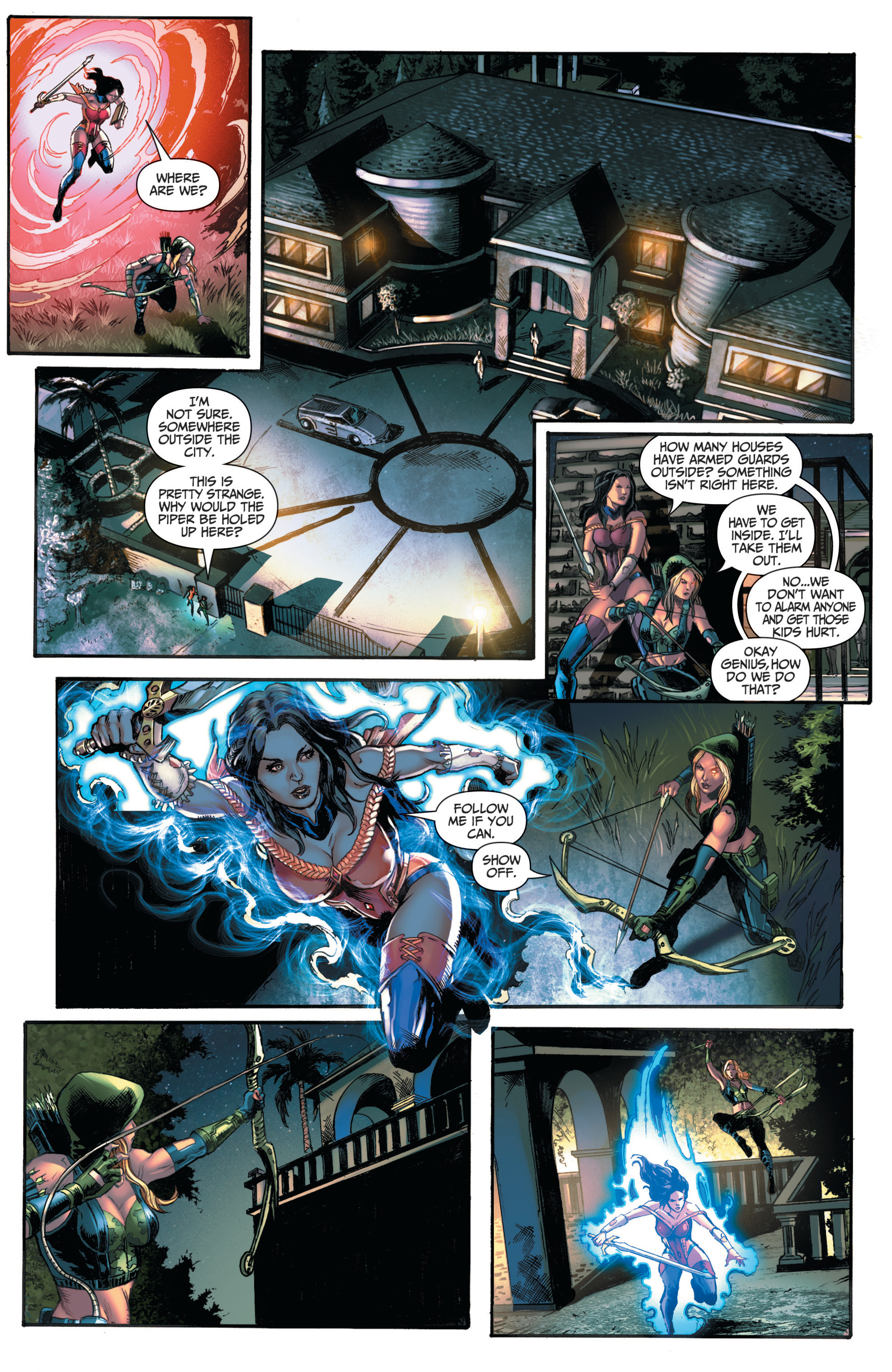 Read online Grimm Fairy Tales (2016) comic -  Issue #6 - 17