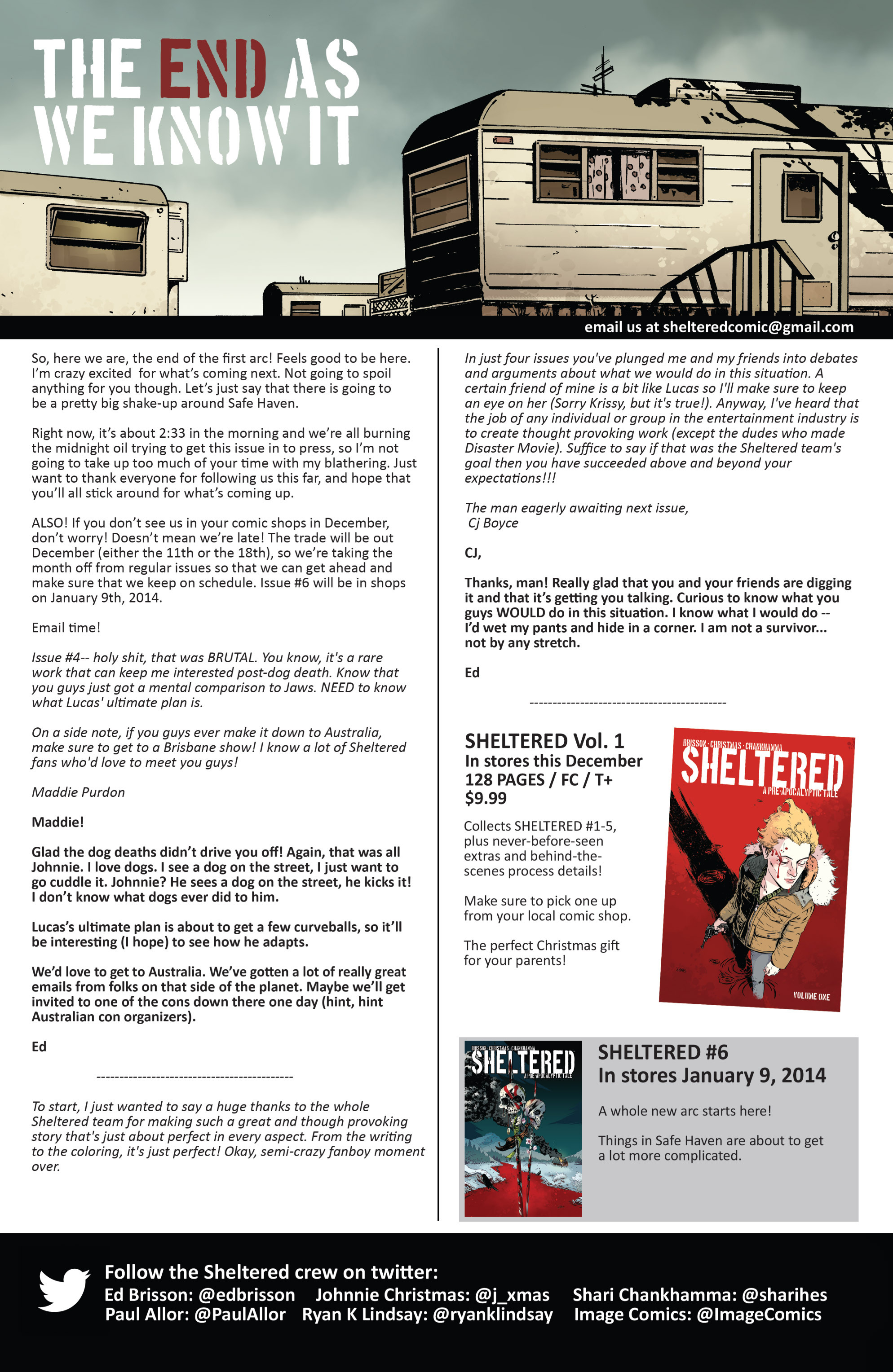 Read online Sheltered comic -  Issue #5 - 25