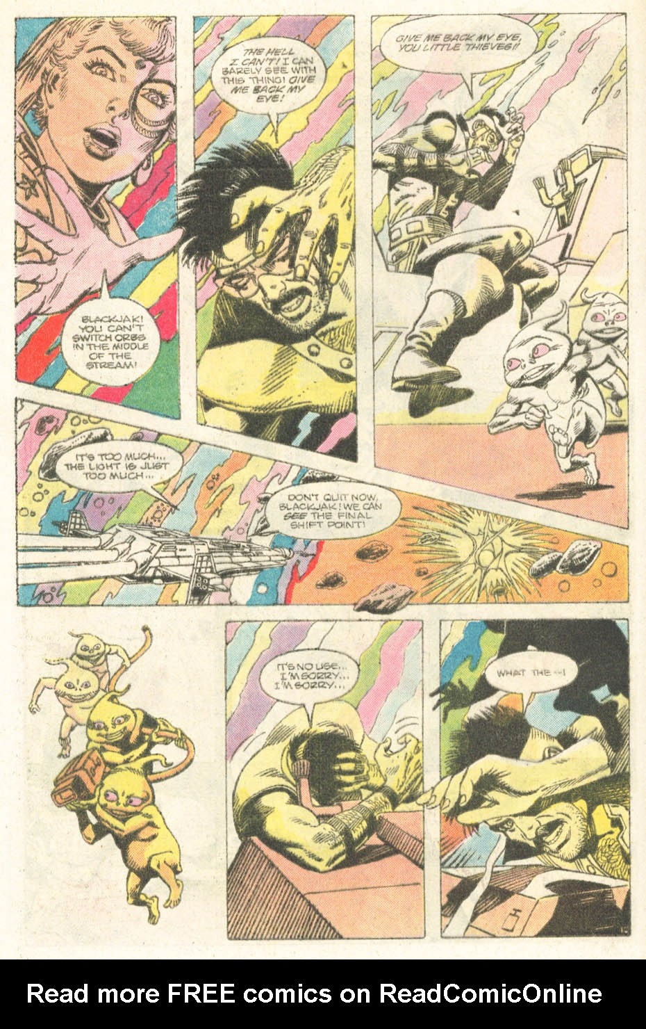 Read online Atari Force (1984) comic -  Issue #18 - 17