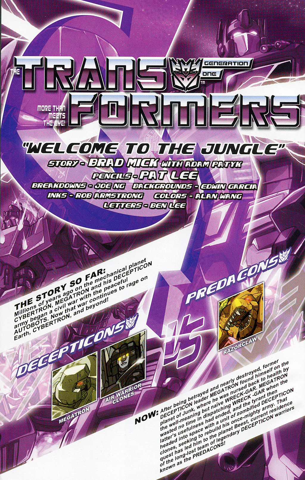 Read online Transformers 20th Anniversary Summer Special comic -  Issue # Full - 2