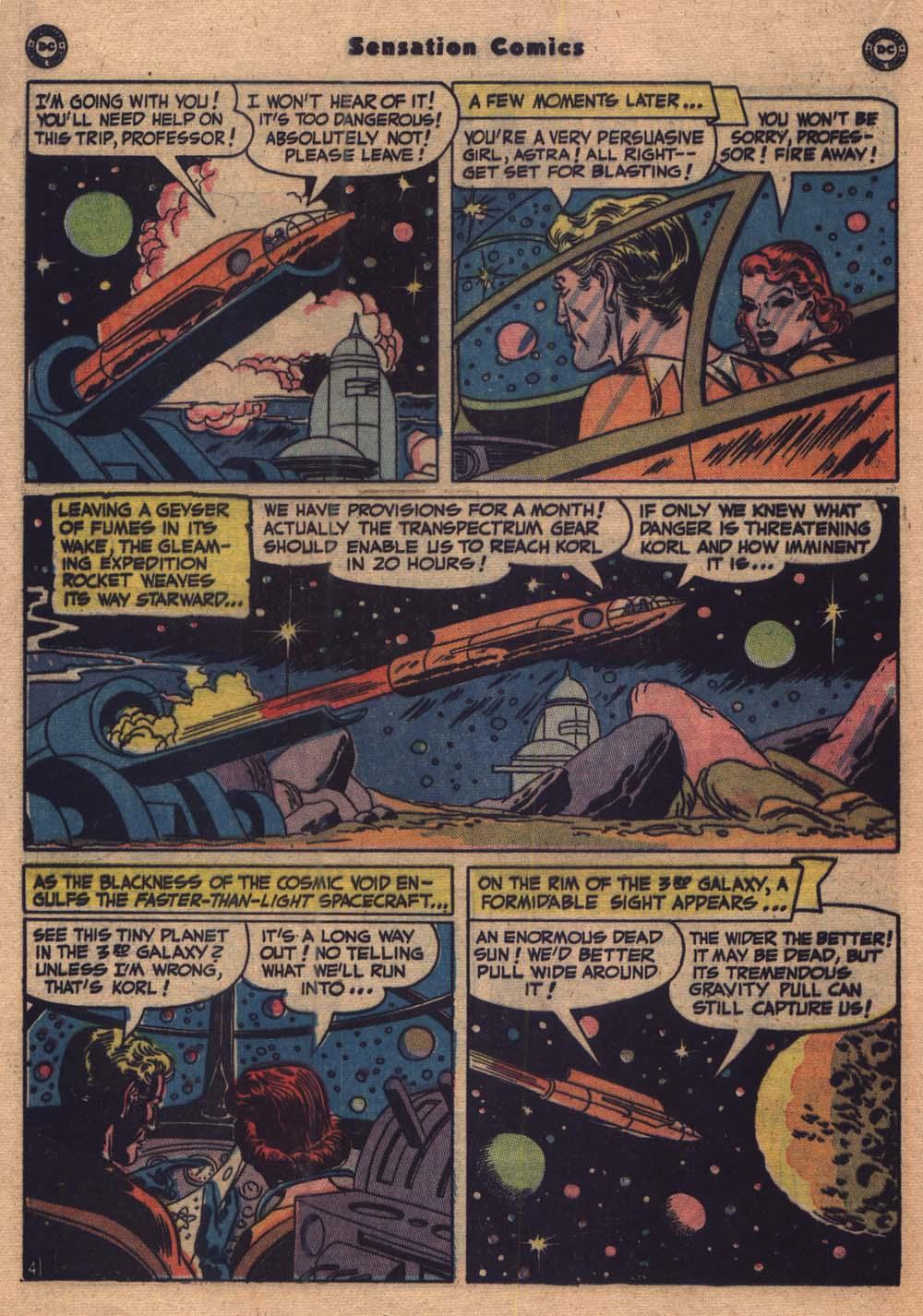 Read online Sensation (Mystery) Comics comic -  Issue #103 - 17