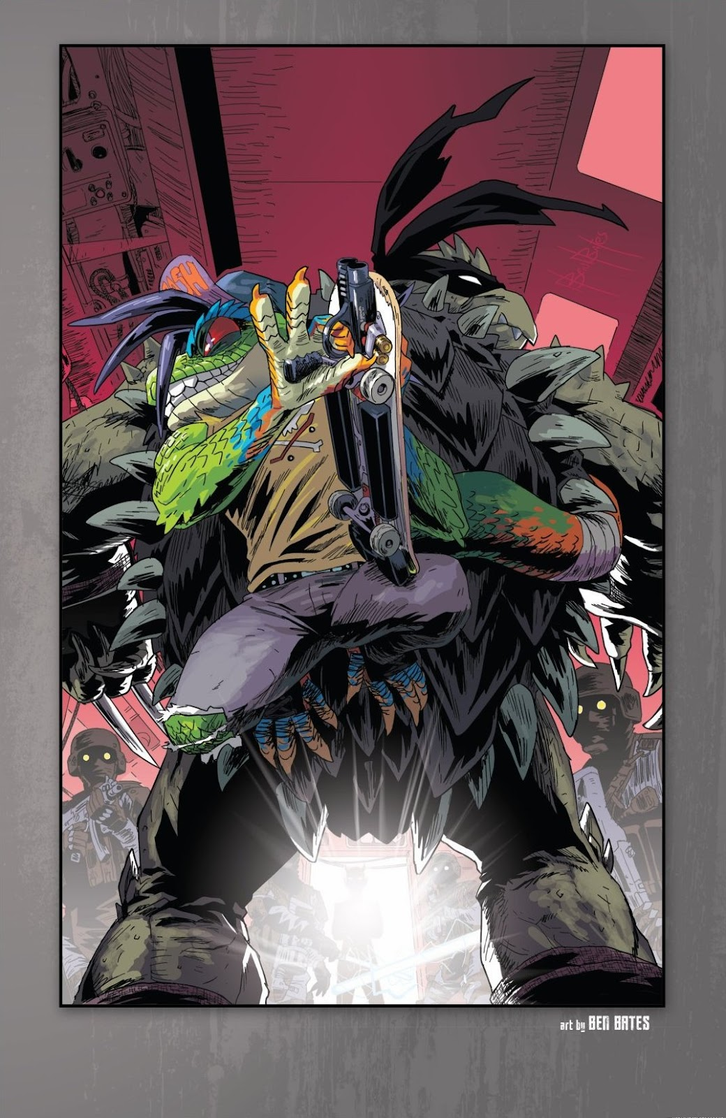 Read online Teenage Mutant Ninja Turtles: The IDW Collection comic -  Issue # TPB 6 (Part 1) - 76