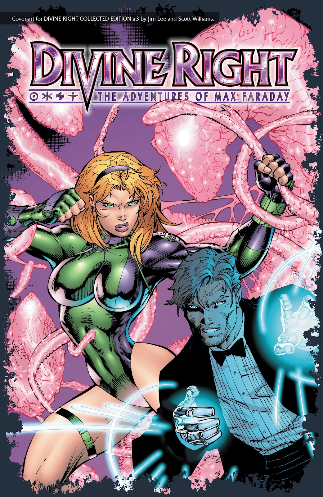 Read online Divine Right comic -  Issue # _TPB The Adventures of Max Faraday (Part 4) - 61