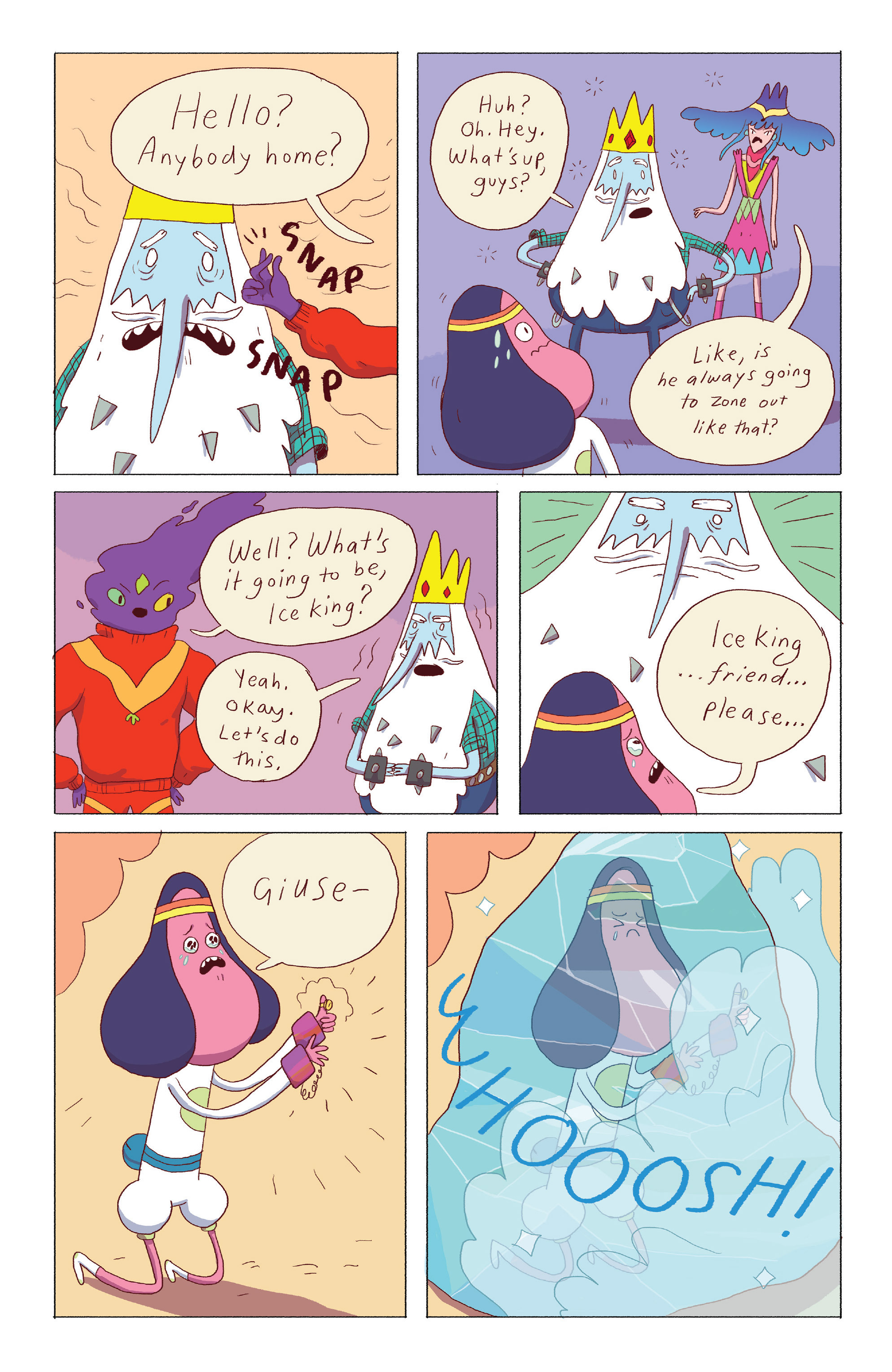 Read online Adventure Time: Ice King comic -  Issue #4 - 17