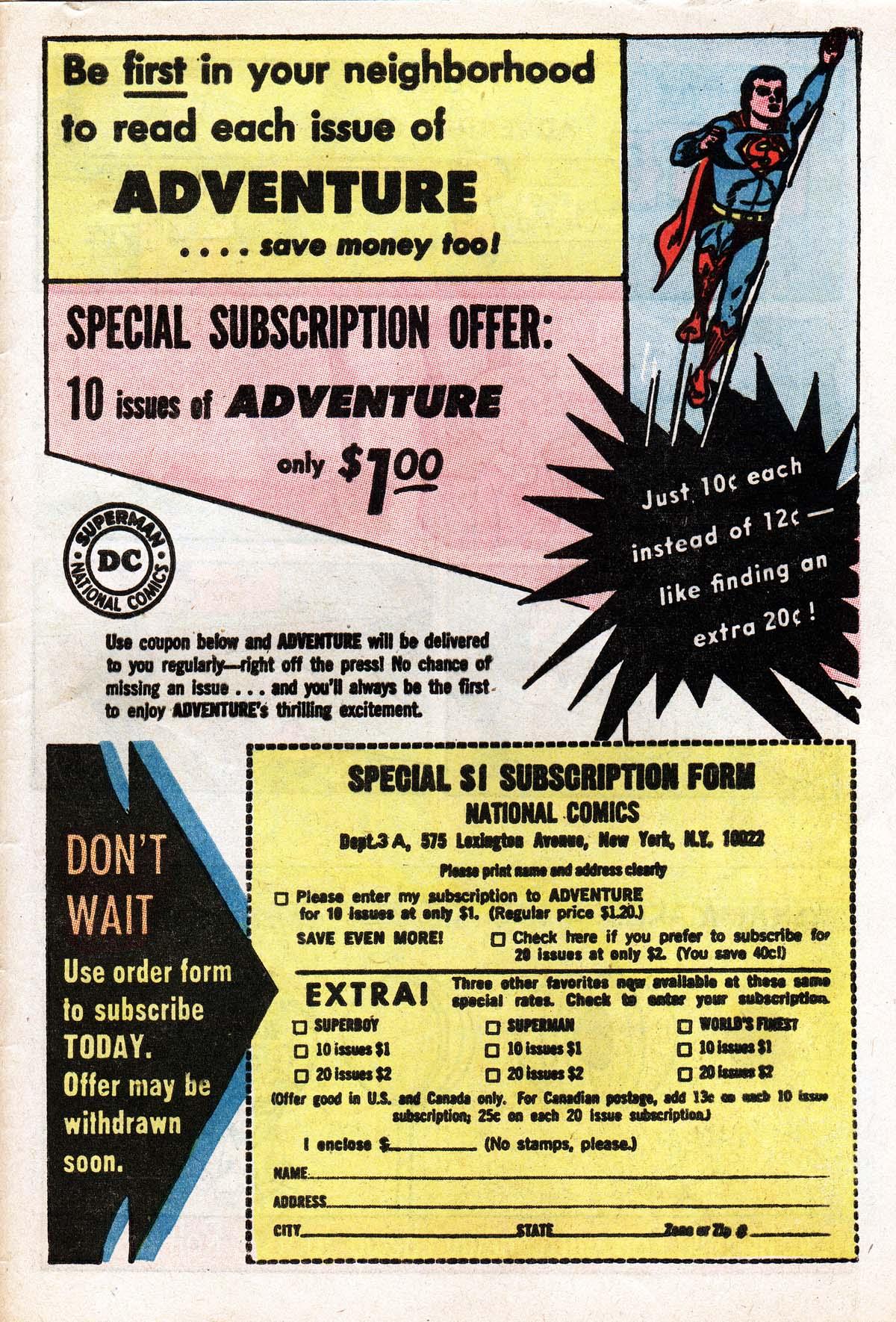 Read online Adventure Comics (1938) comic -  Issue #322 - 33