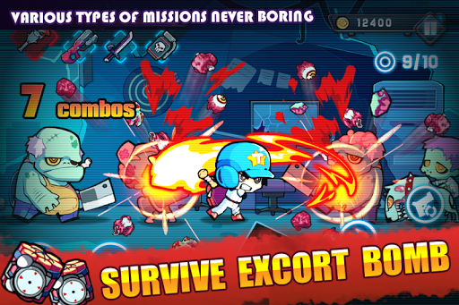 Frenzy Zombie Hack Full Tiền Vàng Cho Android