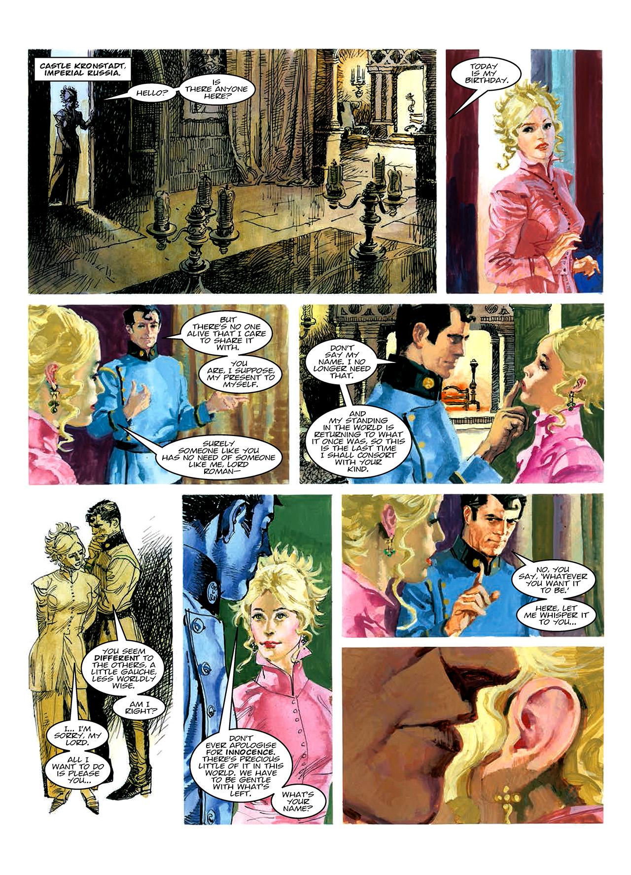 Read online Nikolai Dante comic -  Issue # TPB 10 - 164