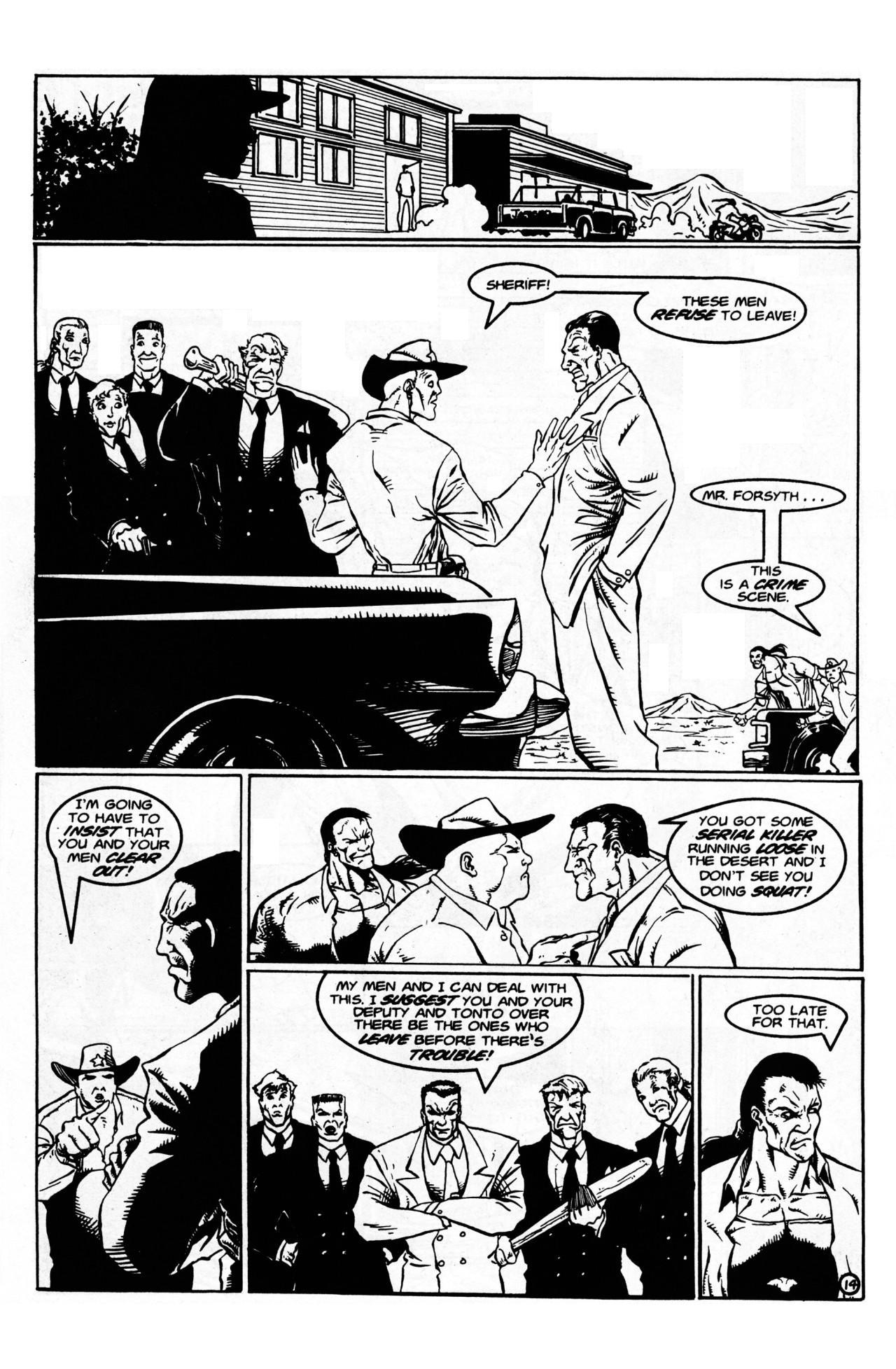 Read online Dr. Weird (1997) comic -  Issue #1 - 16