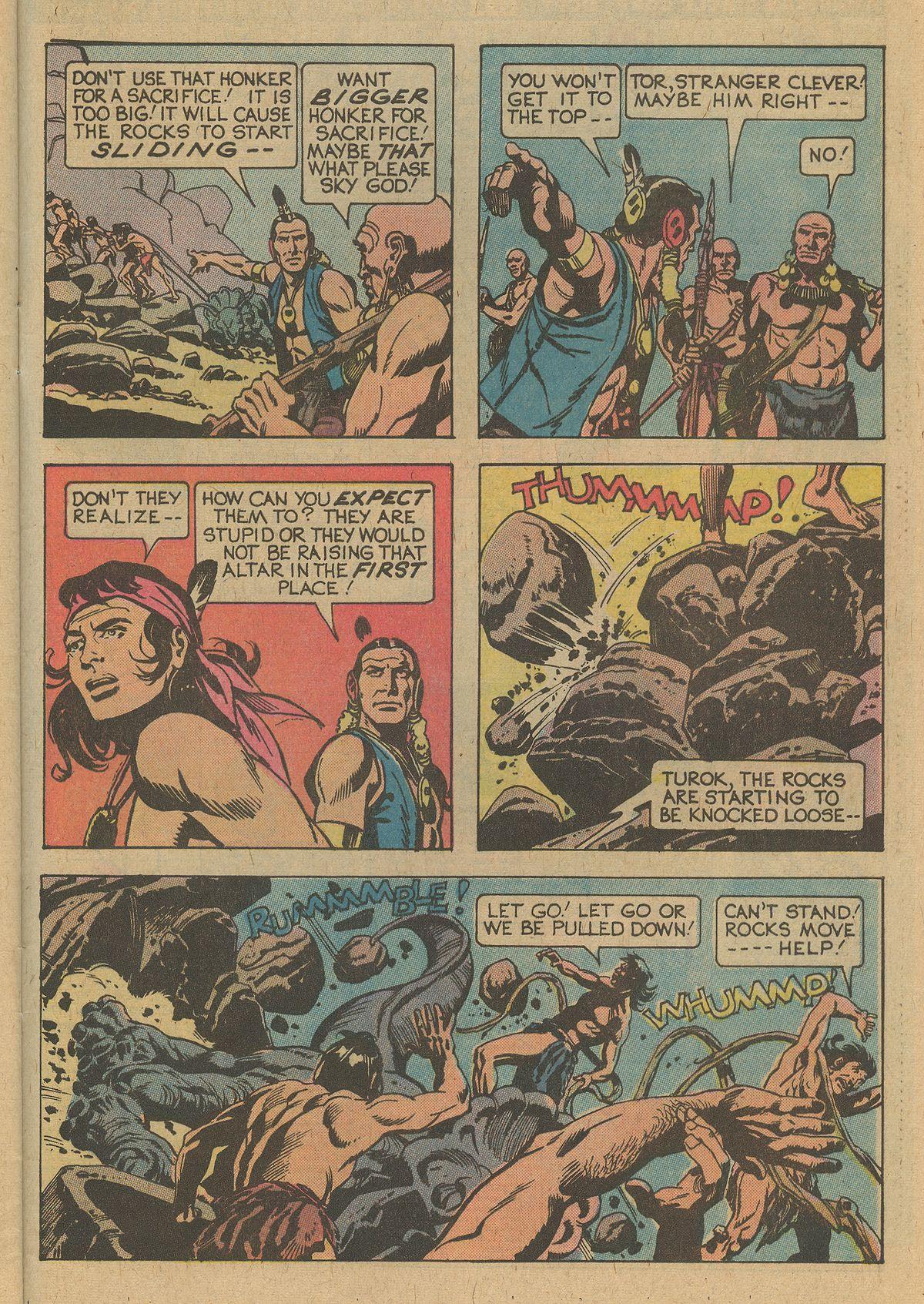 Read online Turok, Son of Stone comic -  Issue #109 - 29