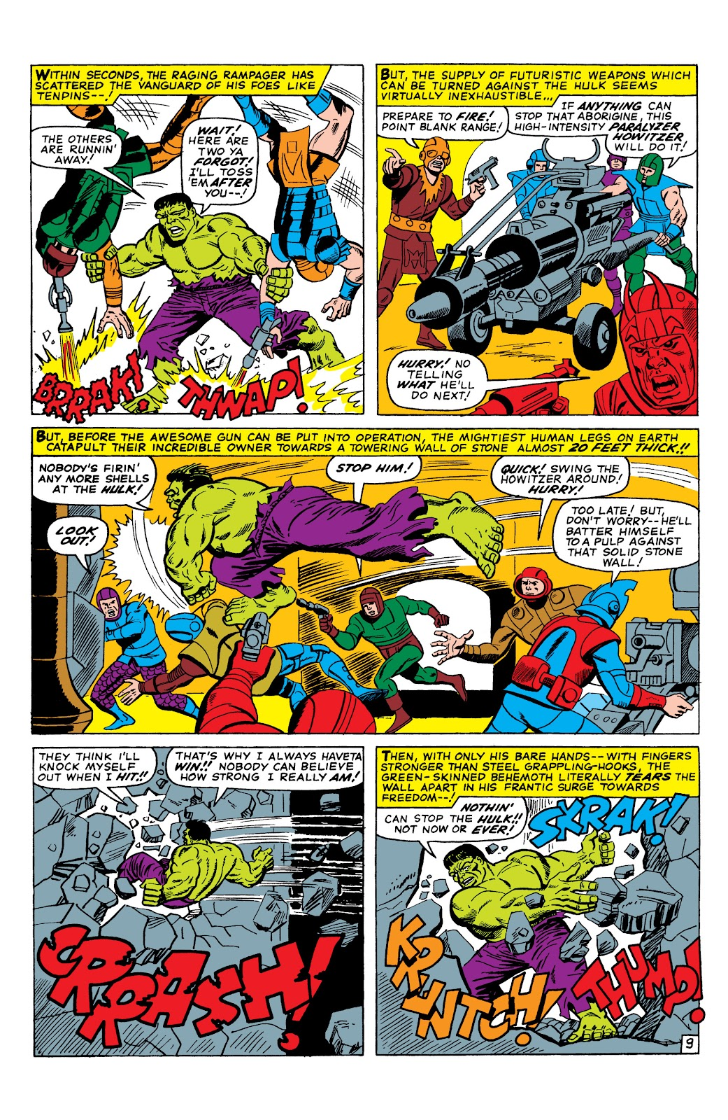 Read online Marvel Masterworks: The Incredible Hulk comic -  Issue # TPB 2 (Part 3) - 9
