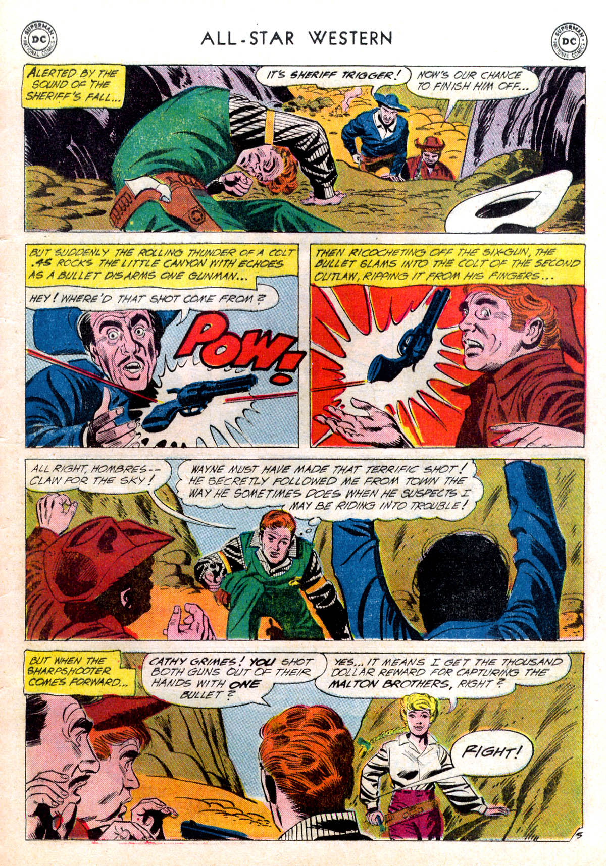 Read online All-Star Western (1951) comic -  Issue #116 - 29