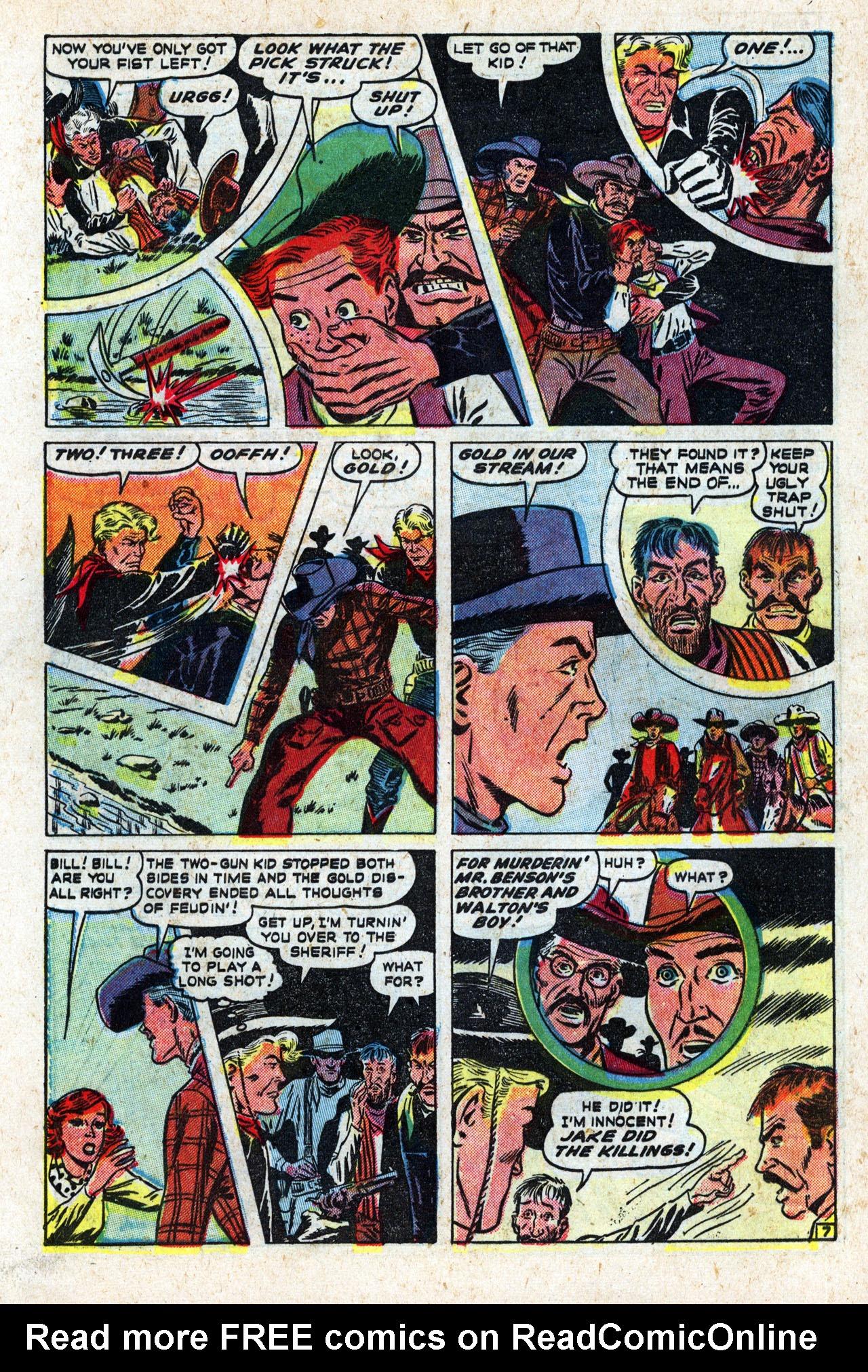 Read online Two-Gun Kid comic -  Issue #10 - 46