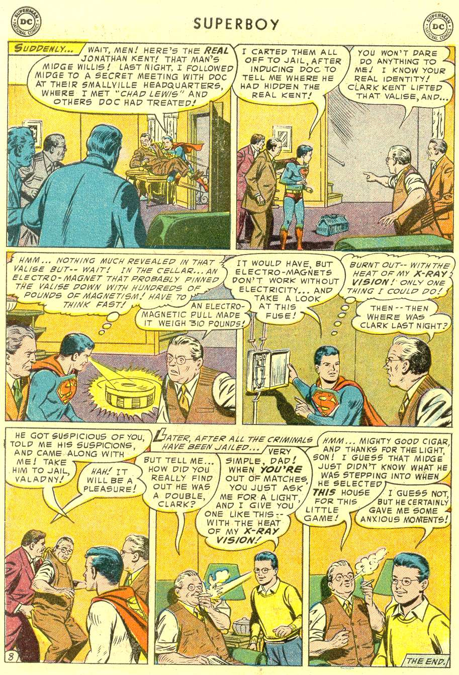 Superboy (1949) issue 42 - Page 9