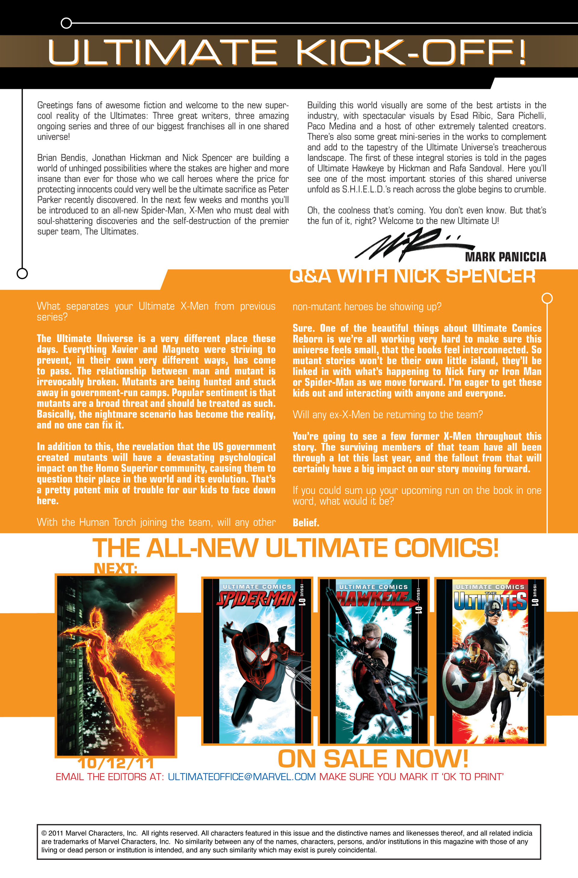 Read online Ultimate Comics X-Men comic -  Issue #1 - 24