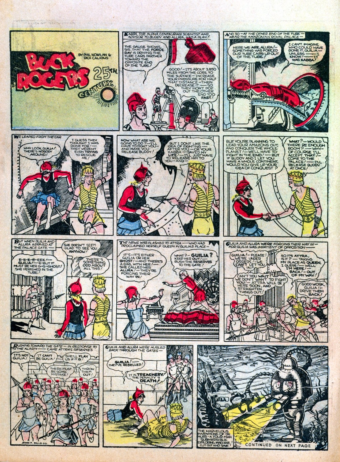 Read online Famous Funnies comic -  Issue #7 - 20