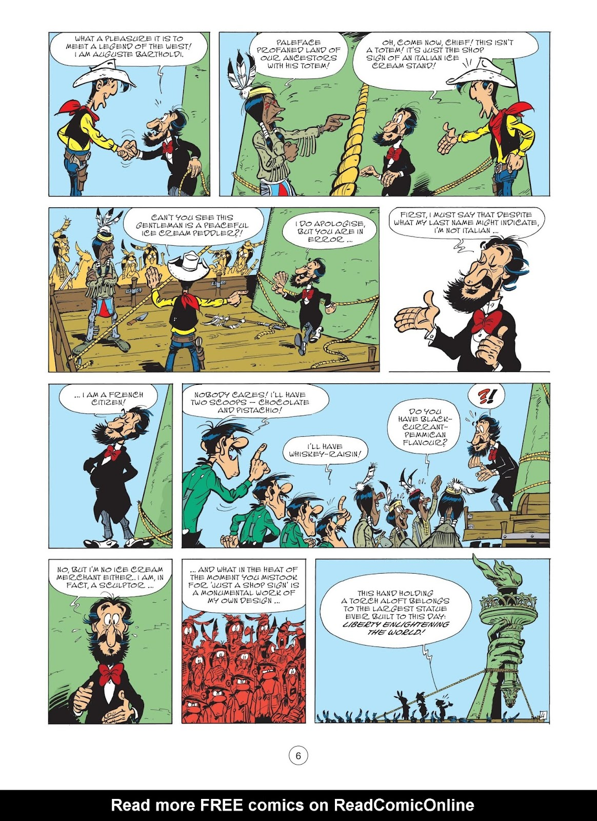 A Lucky Luke Adventure issue 71 - Page 8