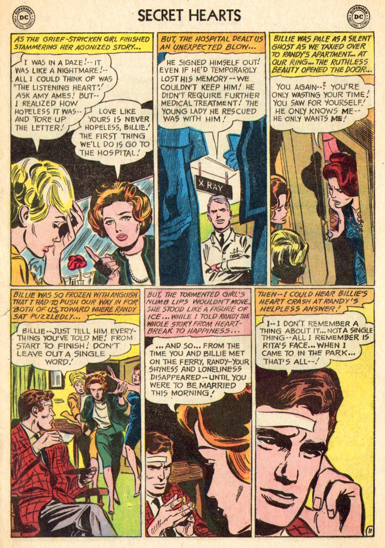 Read online Secret Hearts comic -  Issue #101 - 29