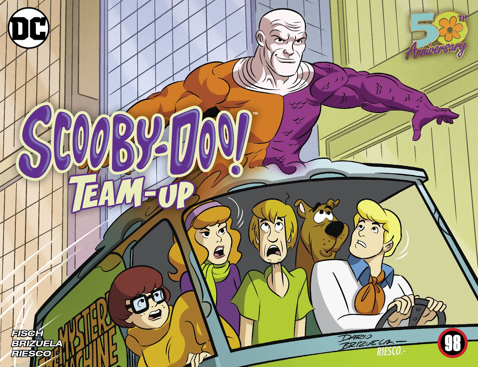 Scooby-Doo! Team-Up issue 98 - Page 1