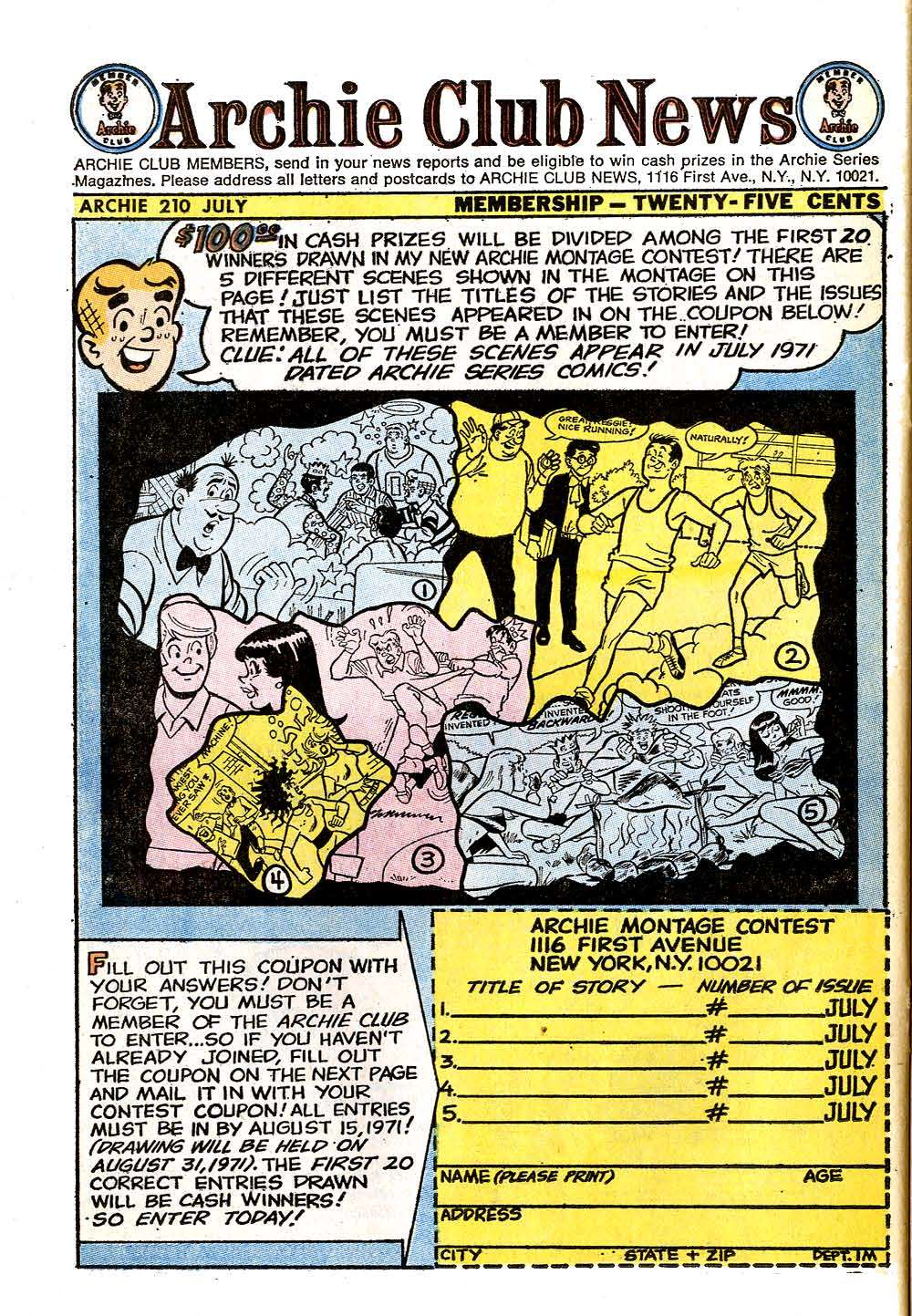 Read online Archie (1960) comic -  Issue #210 - 26